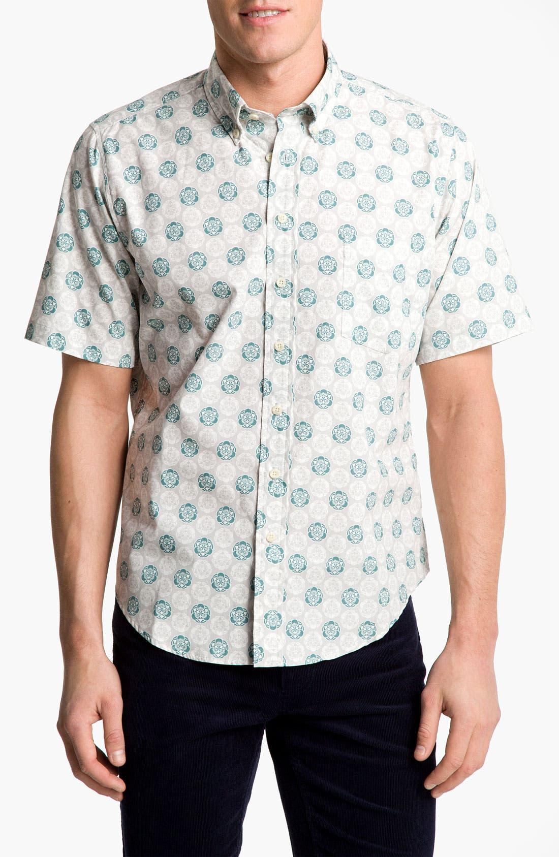 Alternate Image 1 Selected - Reyn Spooner 'Noble Mon' Print Woven Shirt