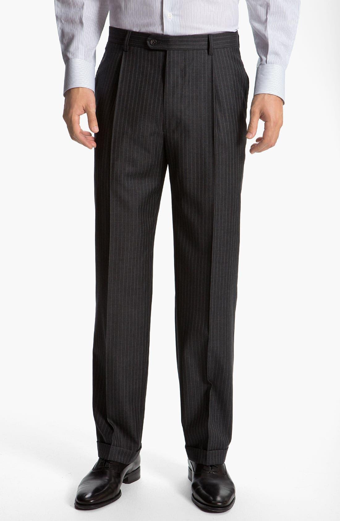 Alternate Image 4  - Joseph Abboud 'Signature Silver' Stripe Suit