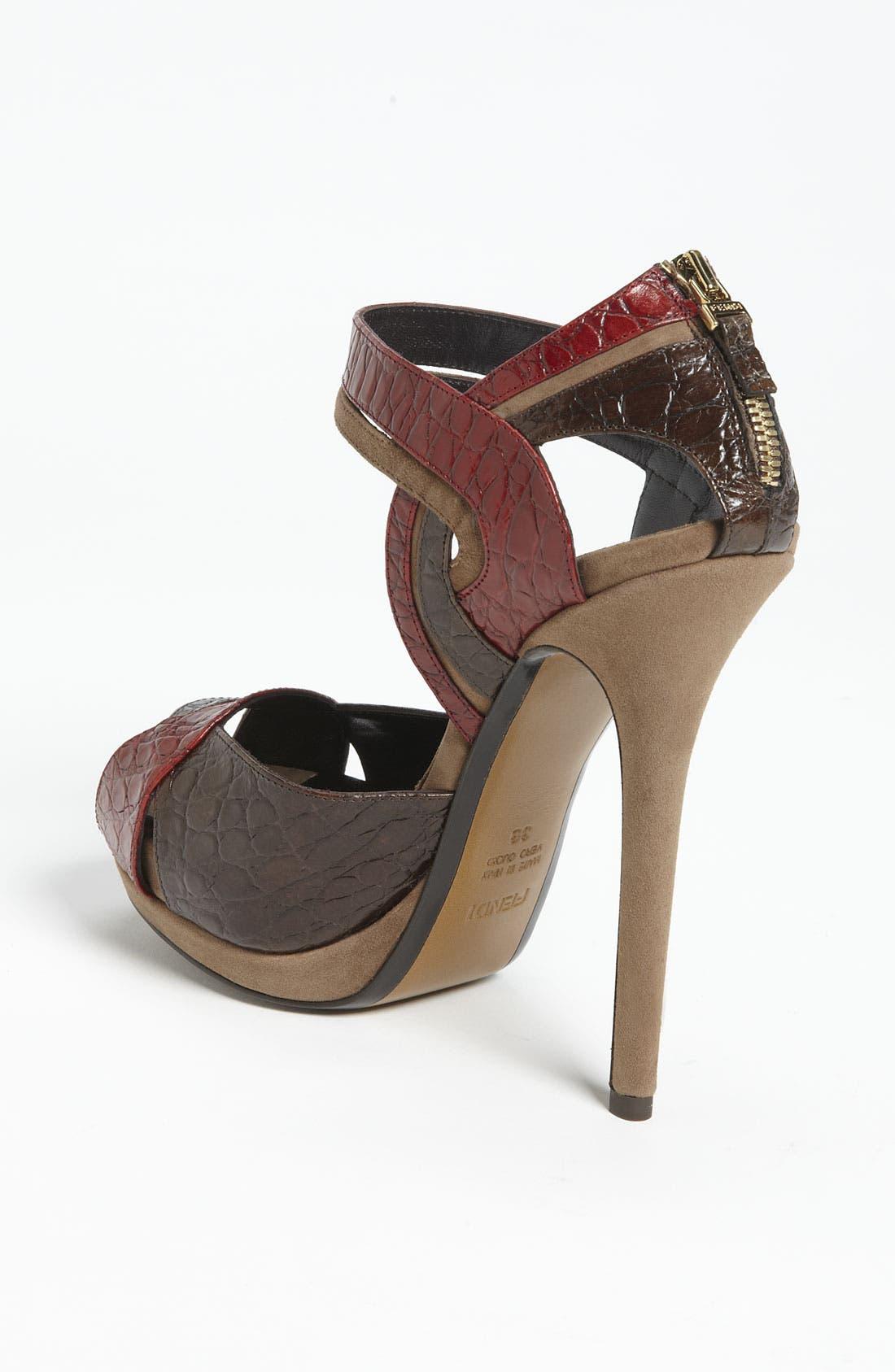 Alternate Image 2  - Fendi 'Let Me In' Ankle Strap Sandal