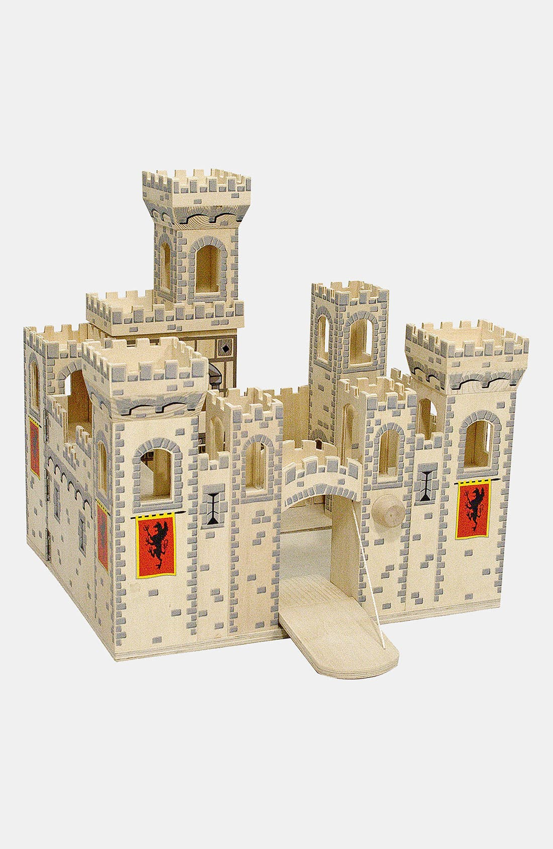Wood Play Castle,                             Alternate thumbnail 5, color,                             Medieval