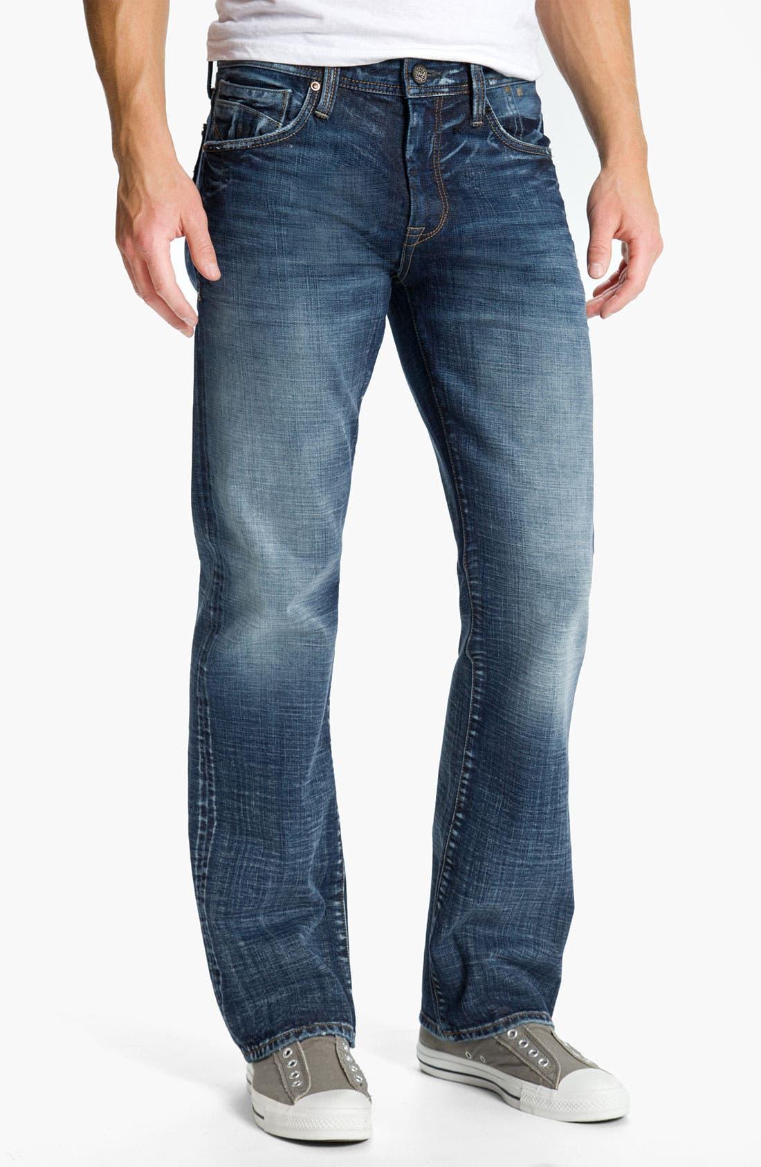 Alternate Image 2  - Mavi Jeans 'Josh' Bootcut Jeans (Dark American Cashmere)