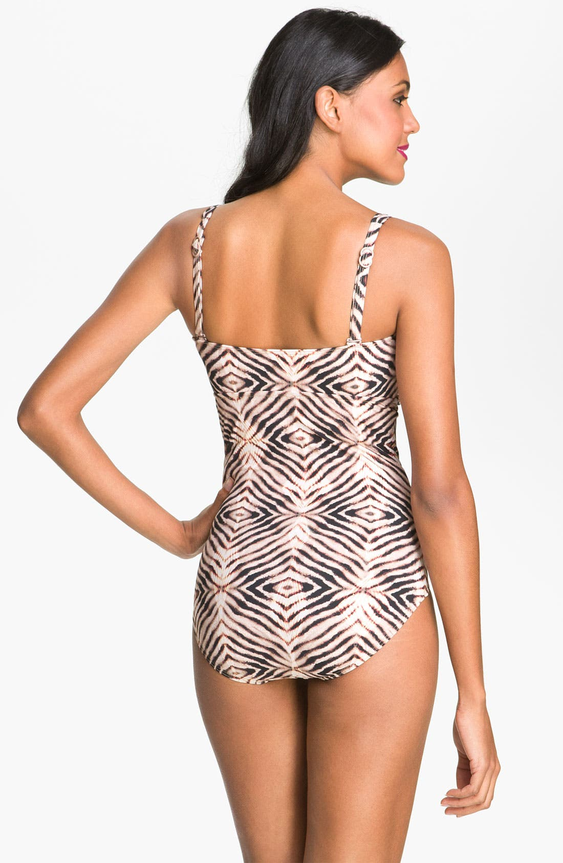 Alternate Image 2  - Seafolly 'Amazon' One Piece Swimsuit (D Cup)