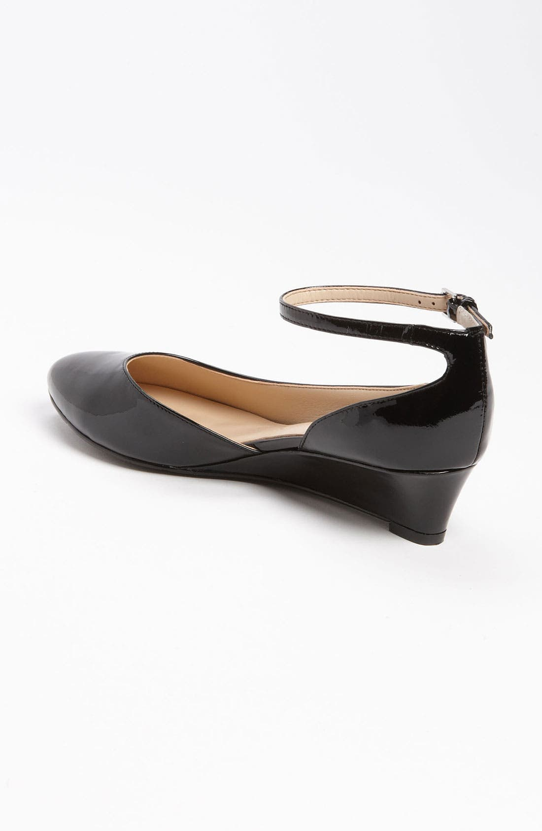 Alternate Image 2  - HALOGEN BIANCA ANKLE STRAP LOW WEDGE