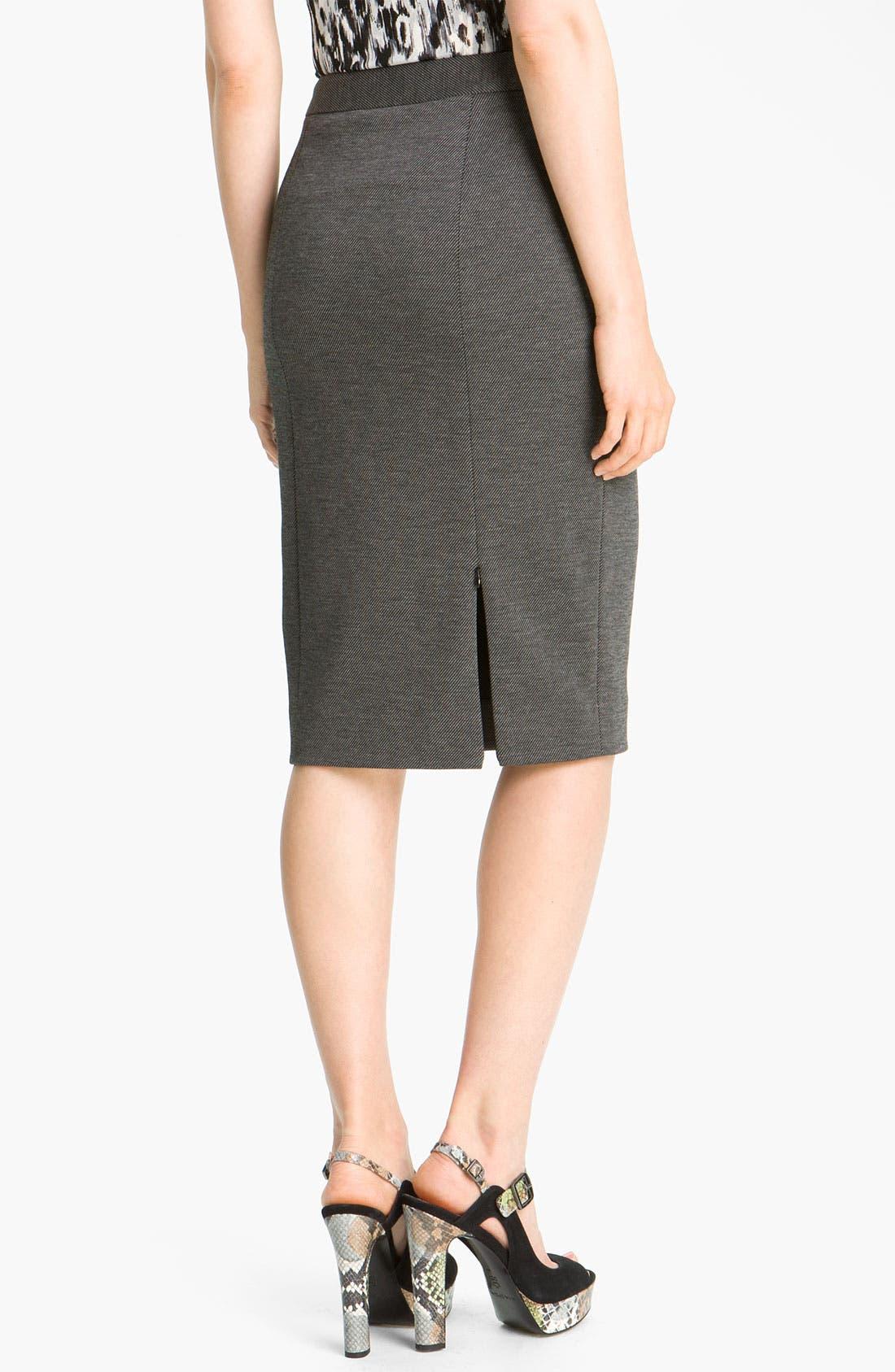 Alternate Image 2  - Classiques Entier® 'Duomo' Knit Pencil Skirt