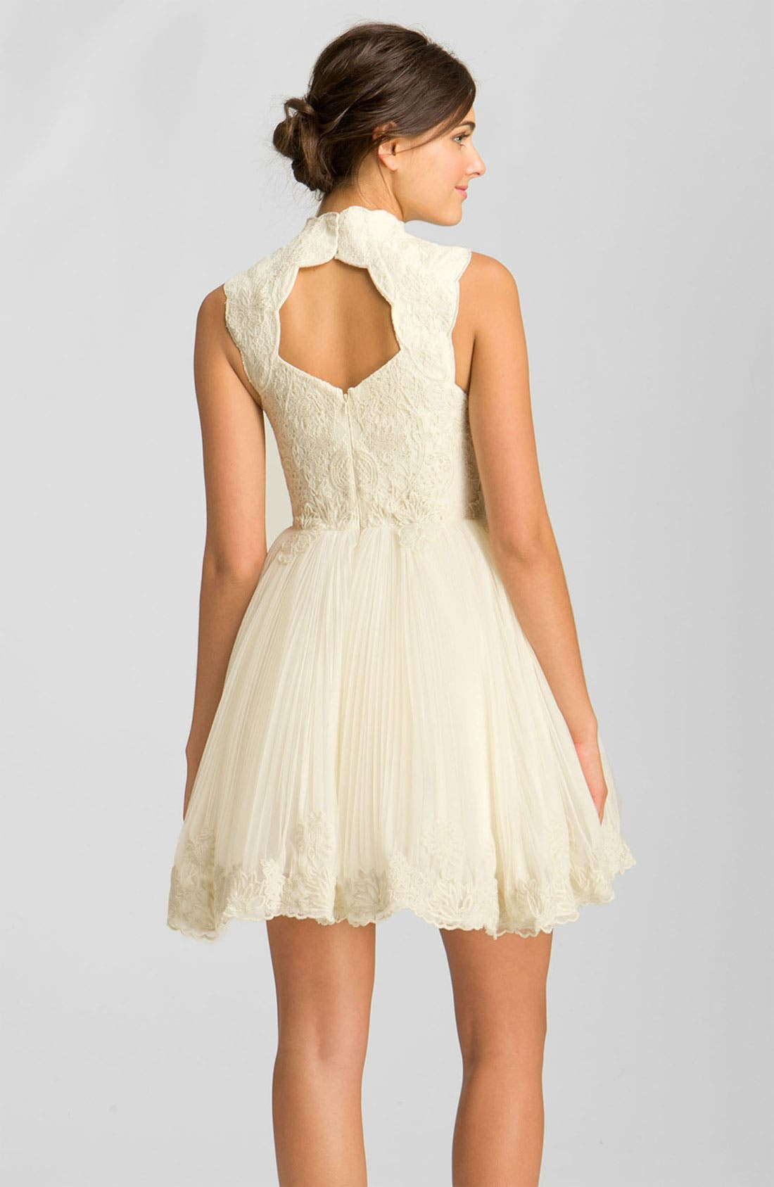 Alternate Image 2  - Ted Baker London 'Telago' Embroidered Tulle Frock