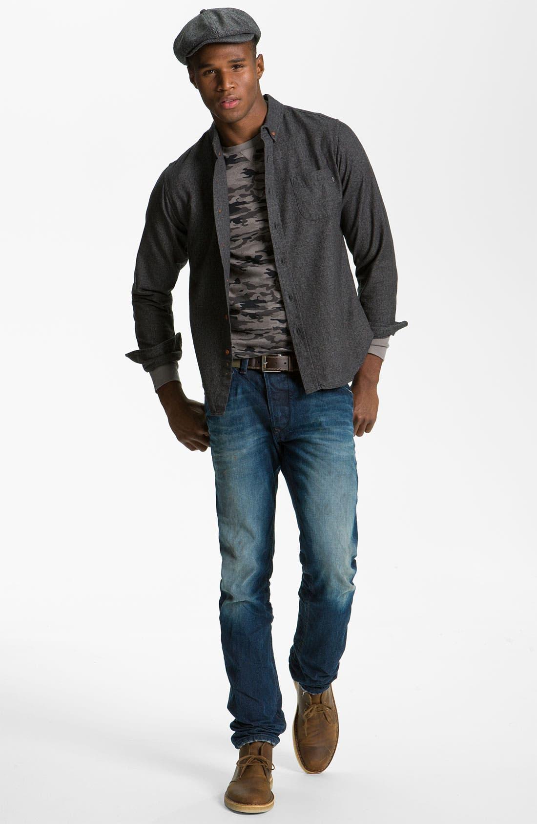 Alternate Image 7  - DIESEL® 'Darron' Slim Tapered Leg Jeans (0803W)