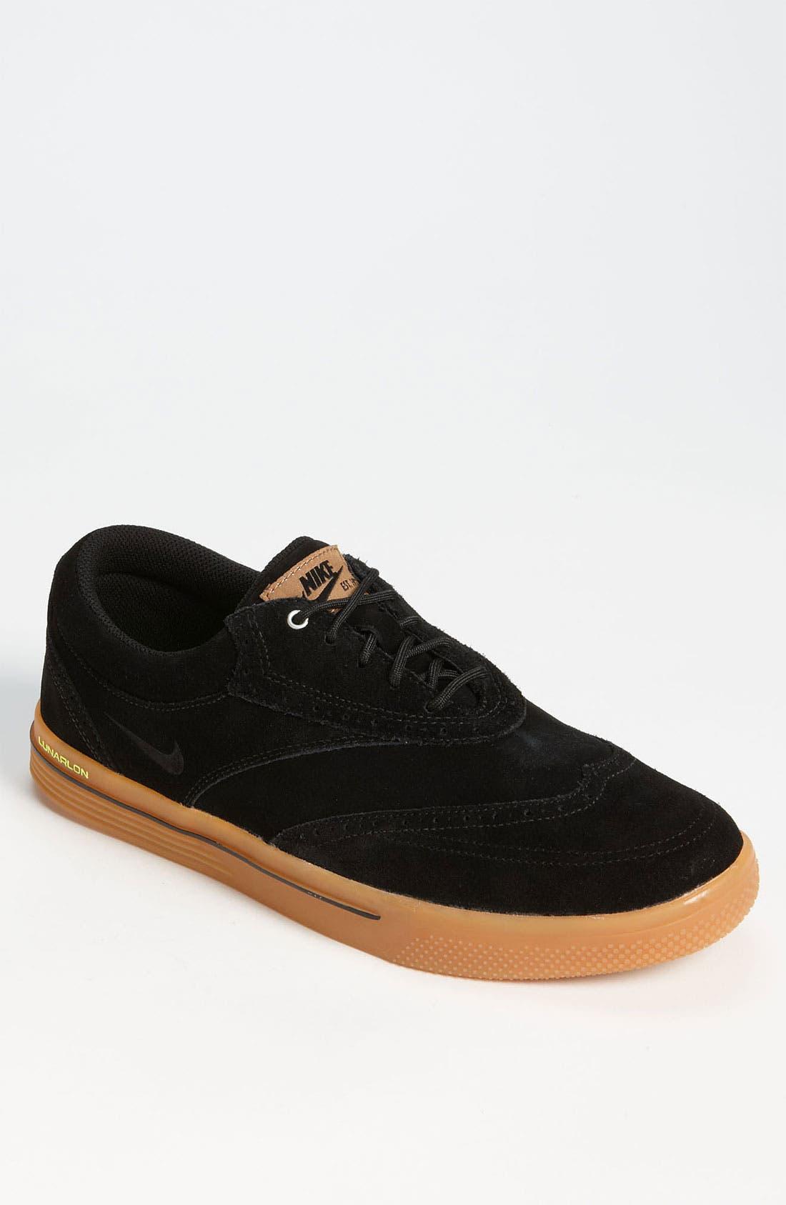 Alternate Image 1 Selected - Nike 'Lunar Swingtip' Suede Golf Shoe (Men)