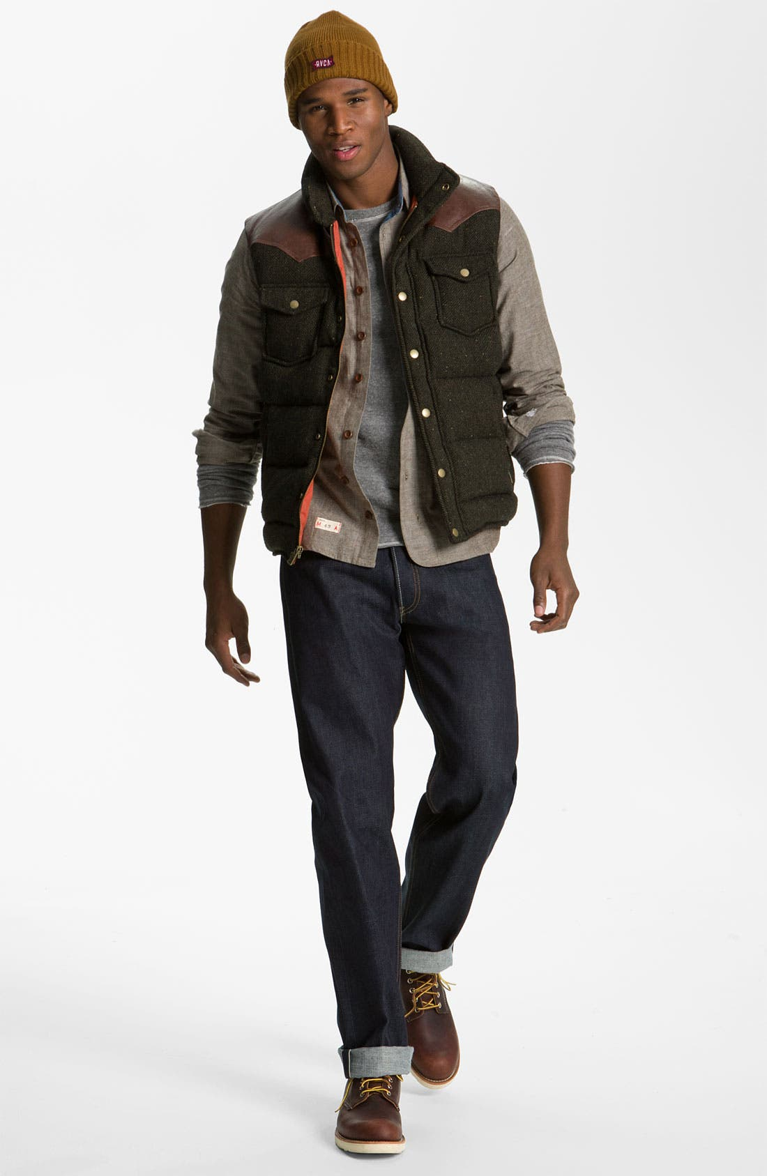 Alternate Image 5  - Levi's '501®' Straight Leg Jeans (Rigid Selvedge)