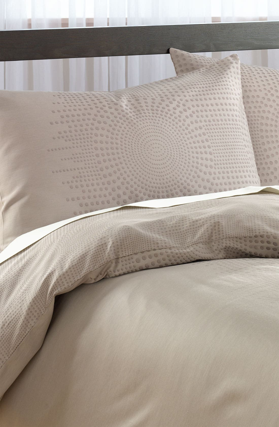 Alternate Image 1 Selected - Nordstrom at Home 'Raindrops' Jacquard Pillow Sham