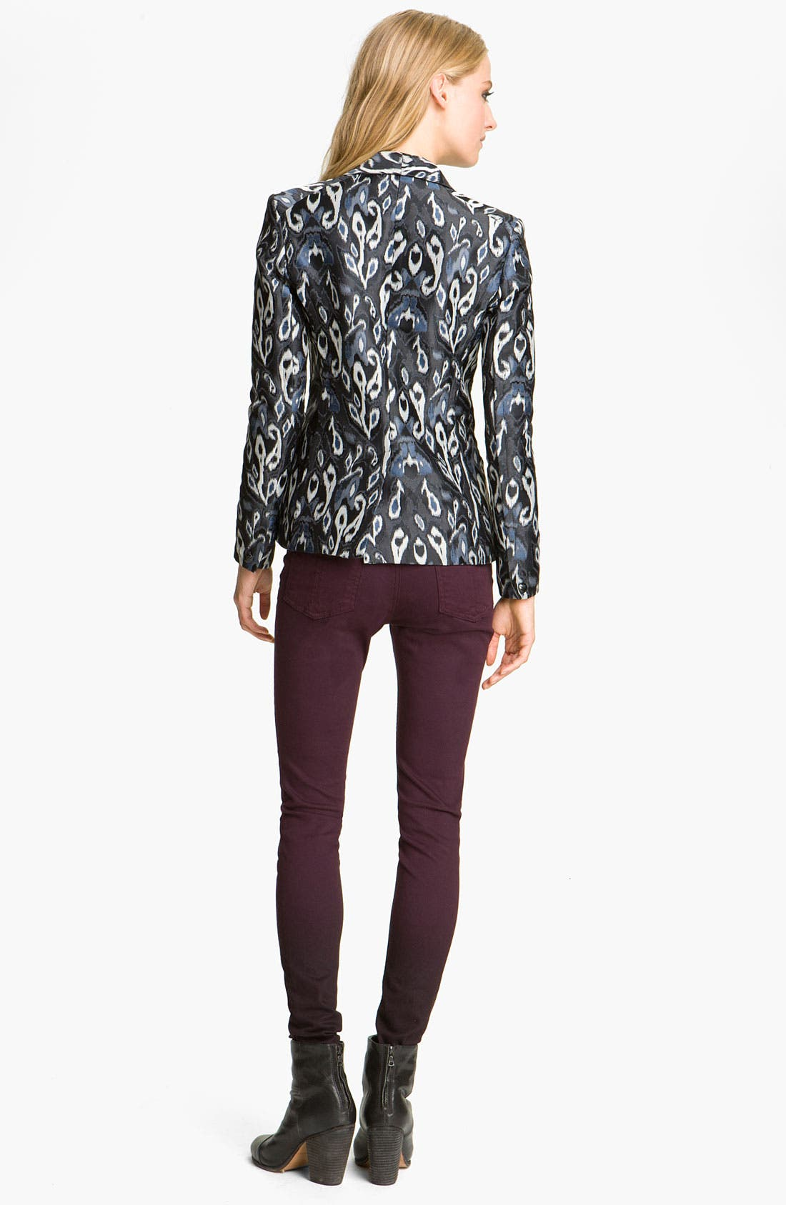 Alternate Image 2  - rag & bone Ikat Print Tuxedo Jacket