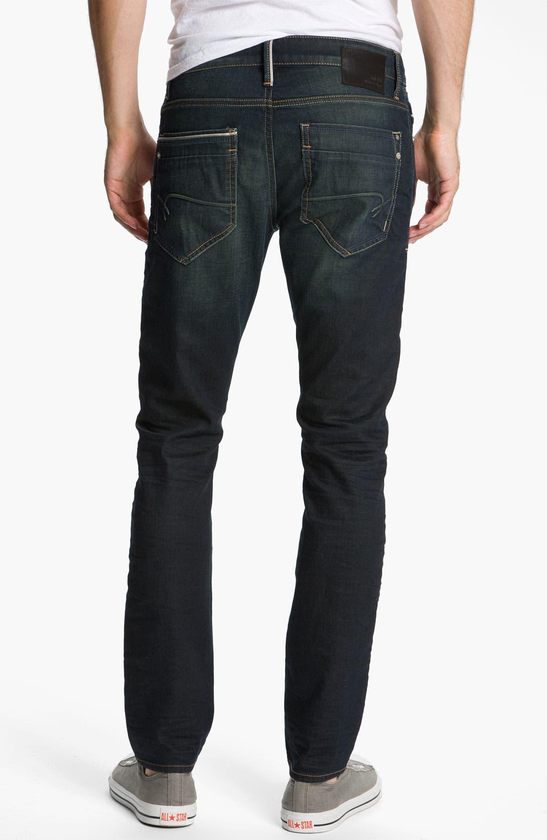 Alternate Image 2  - Mavi Jeans 'Jake' Slim Fit Jeans (Smoke White Edge)