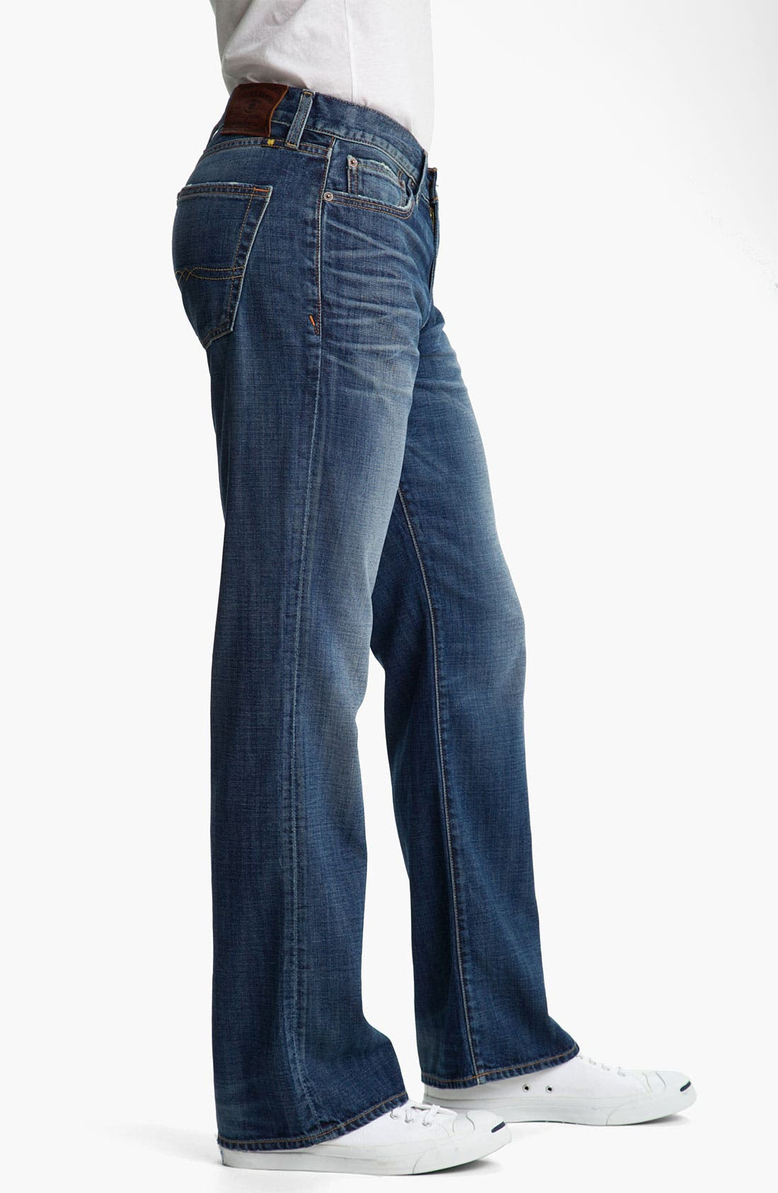 Alternate Image 3  - Lucky Brand Bootcut Jeans (Medium Edwin Warner)