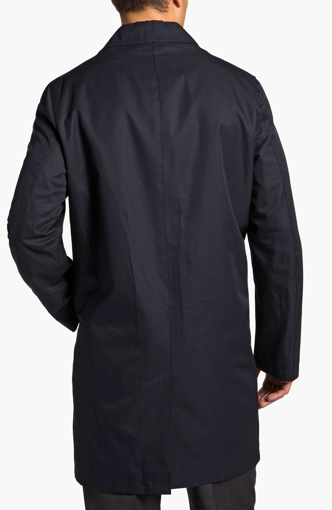 Alternate Image 2  - Brooks Brothers Cotton Car Coat