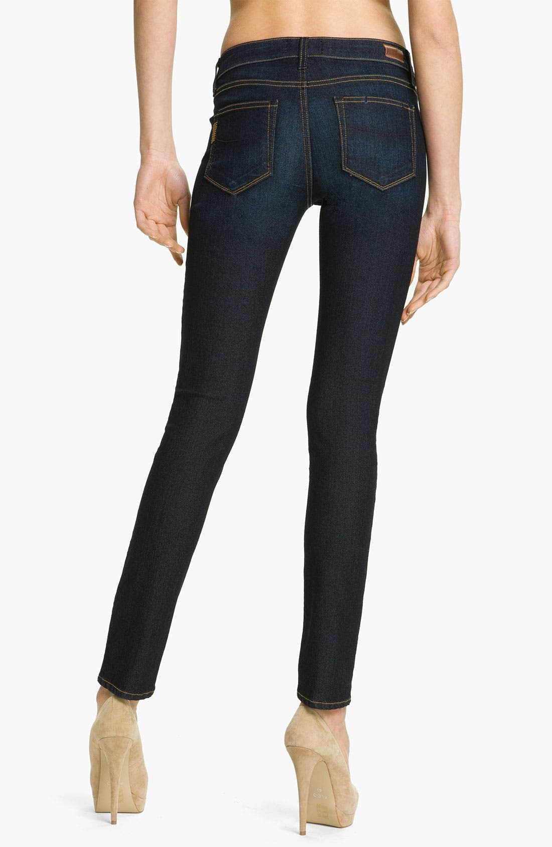 Alternate Image 2  - Paige Denim 'Skyline' Stretch Skinny Jeans (Carson Wash)