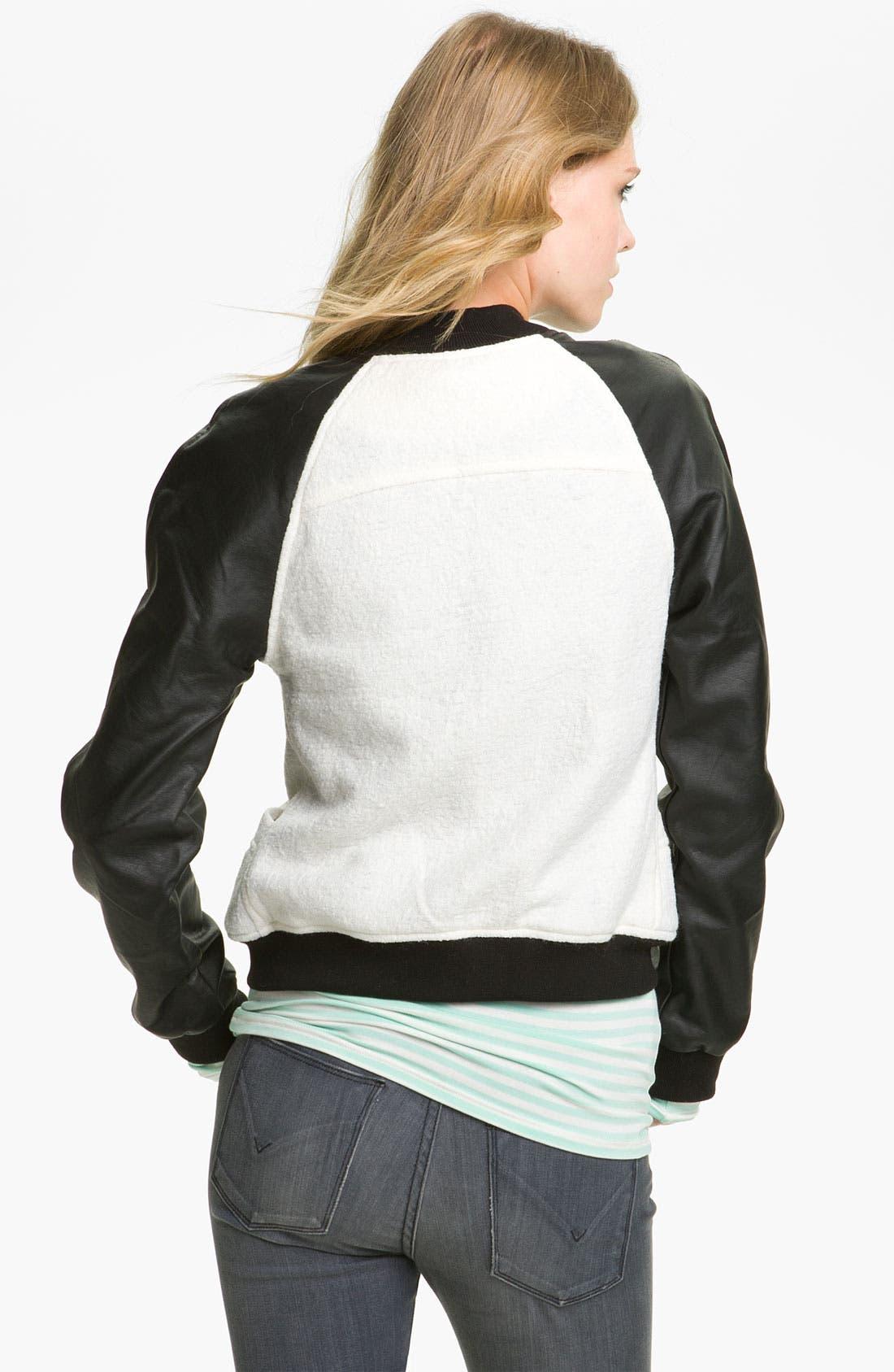 Alternate Image 2  - Sanctuary Varsity Jacket