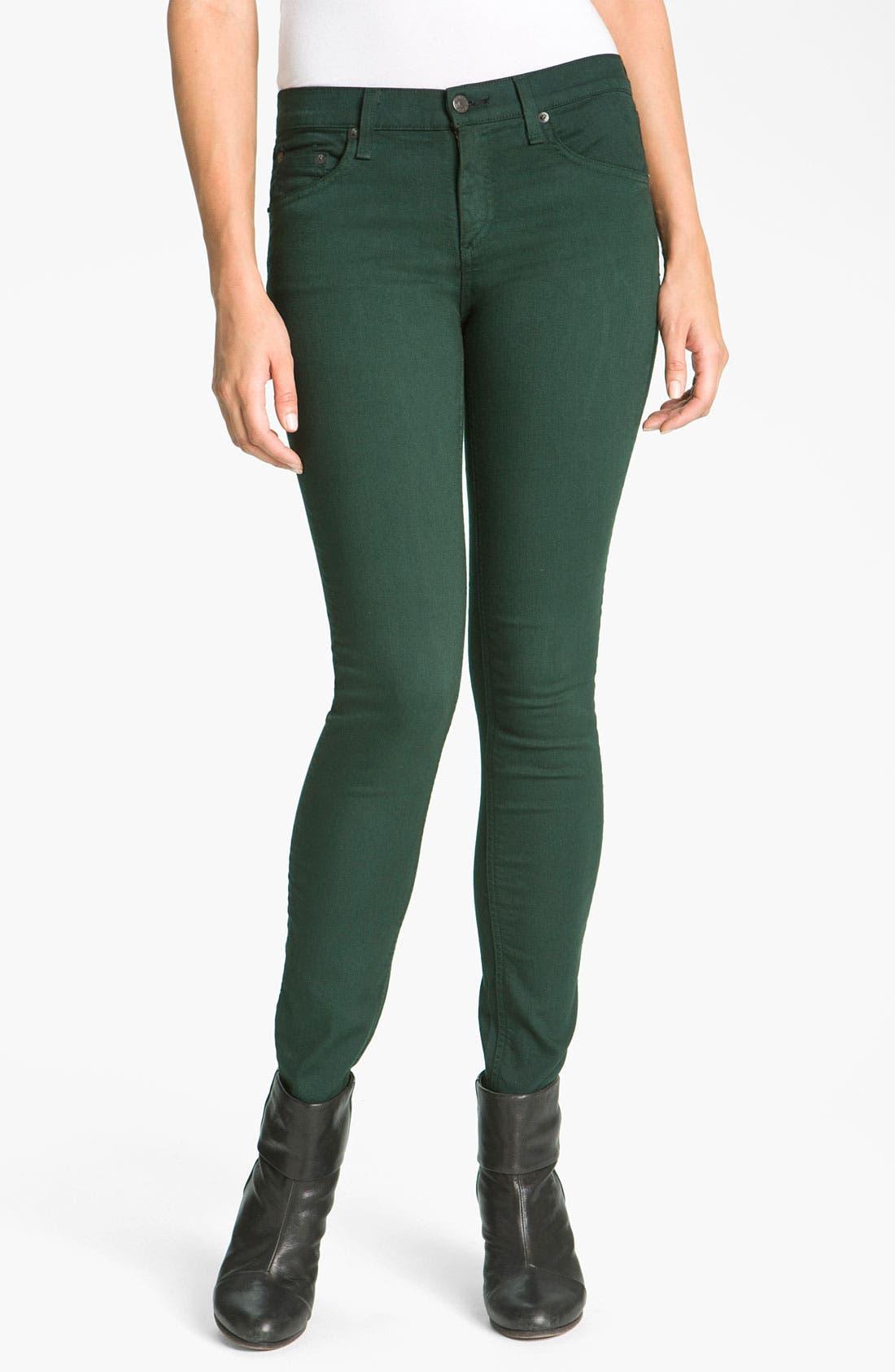 Alternate Image 2  - rag & bone/JEAN Skinny Stretch Jeans