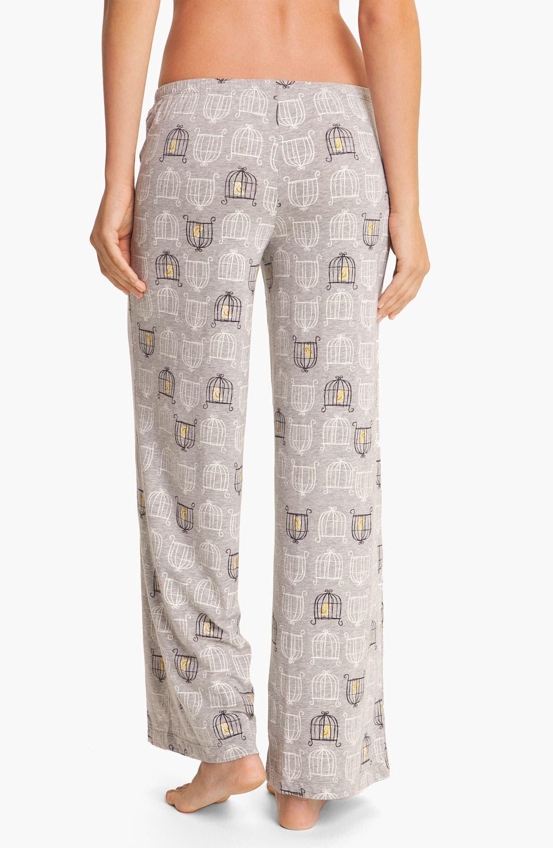 Alternate Image 2  - Hue 'Birdcage' Pajama Pants