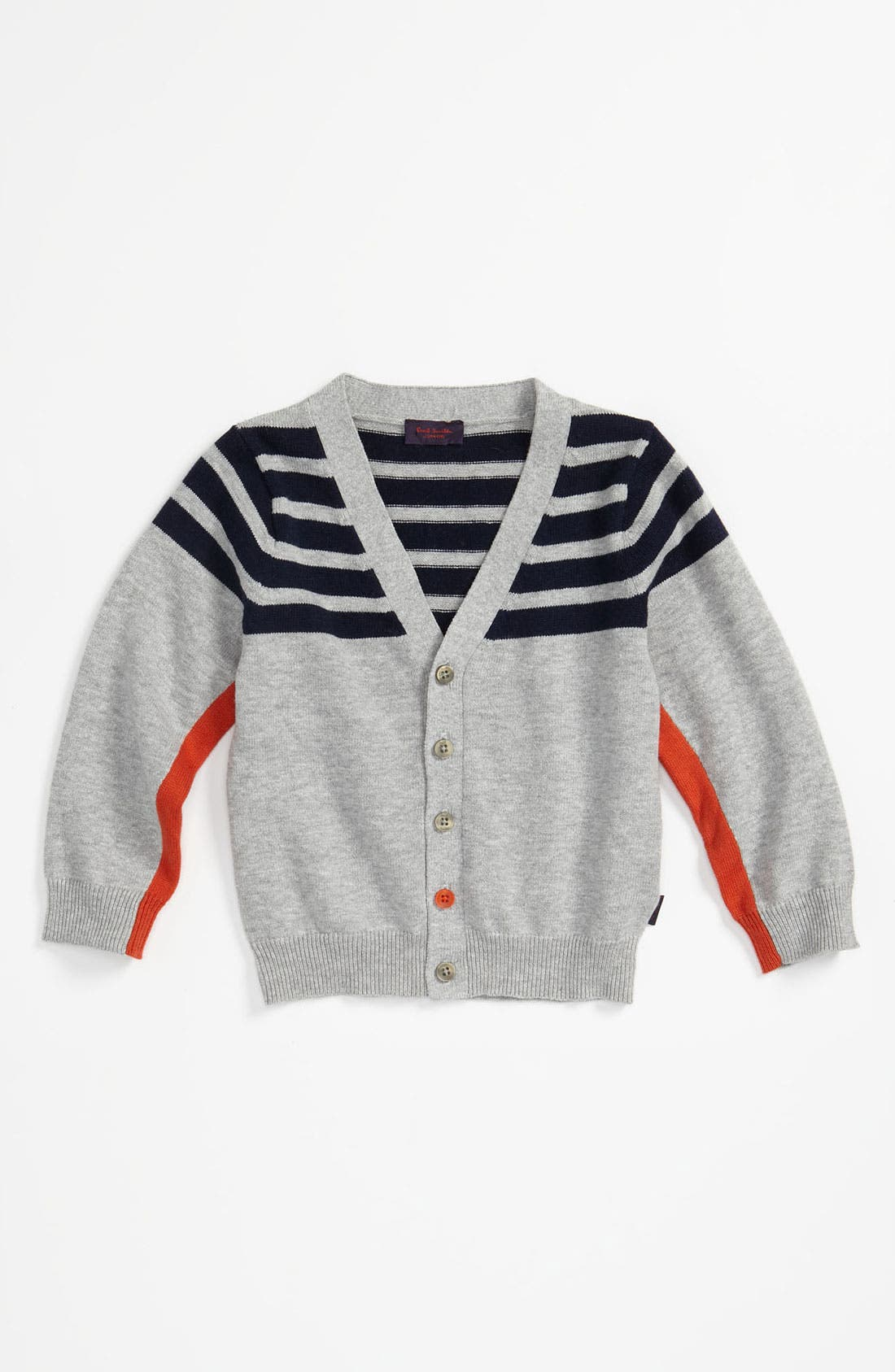 Alternate Image 1 Selected - Paul Smith Junior 'Corner' Cardigan (Toddler)