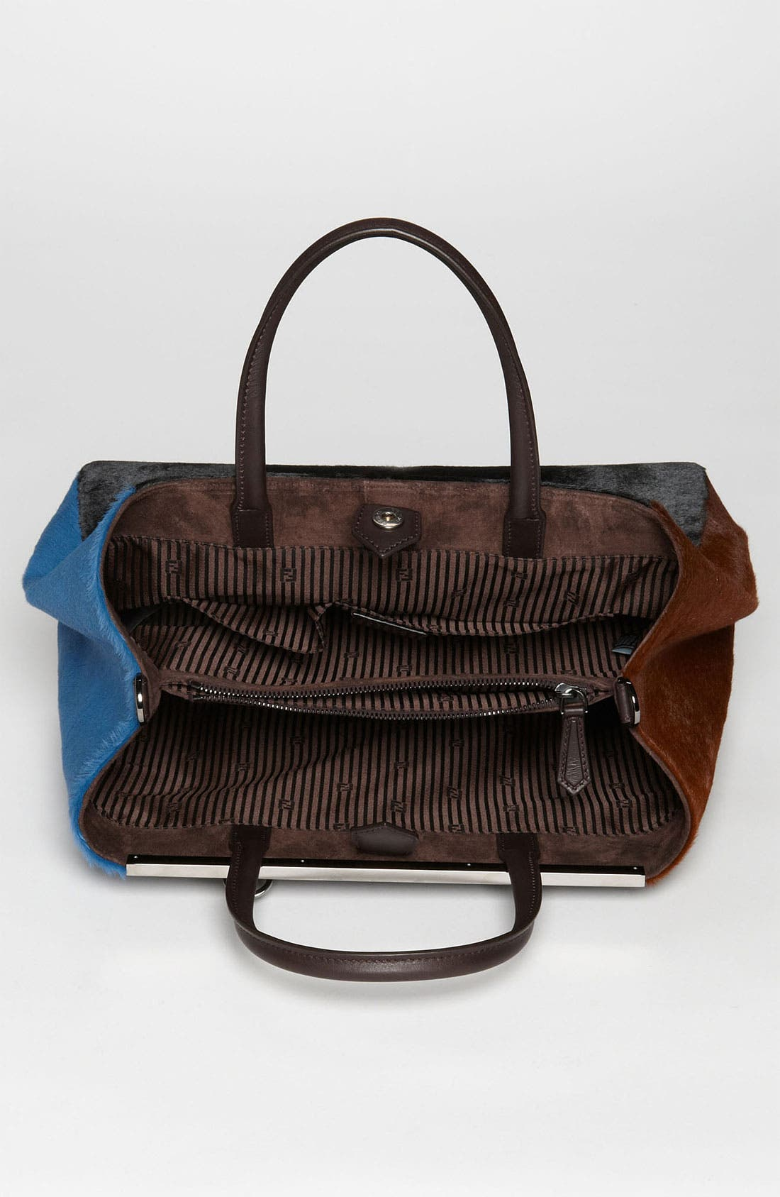 Alternate Image 3  - Fendi 'Medium 2Jours' Calf Hair Shopper
