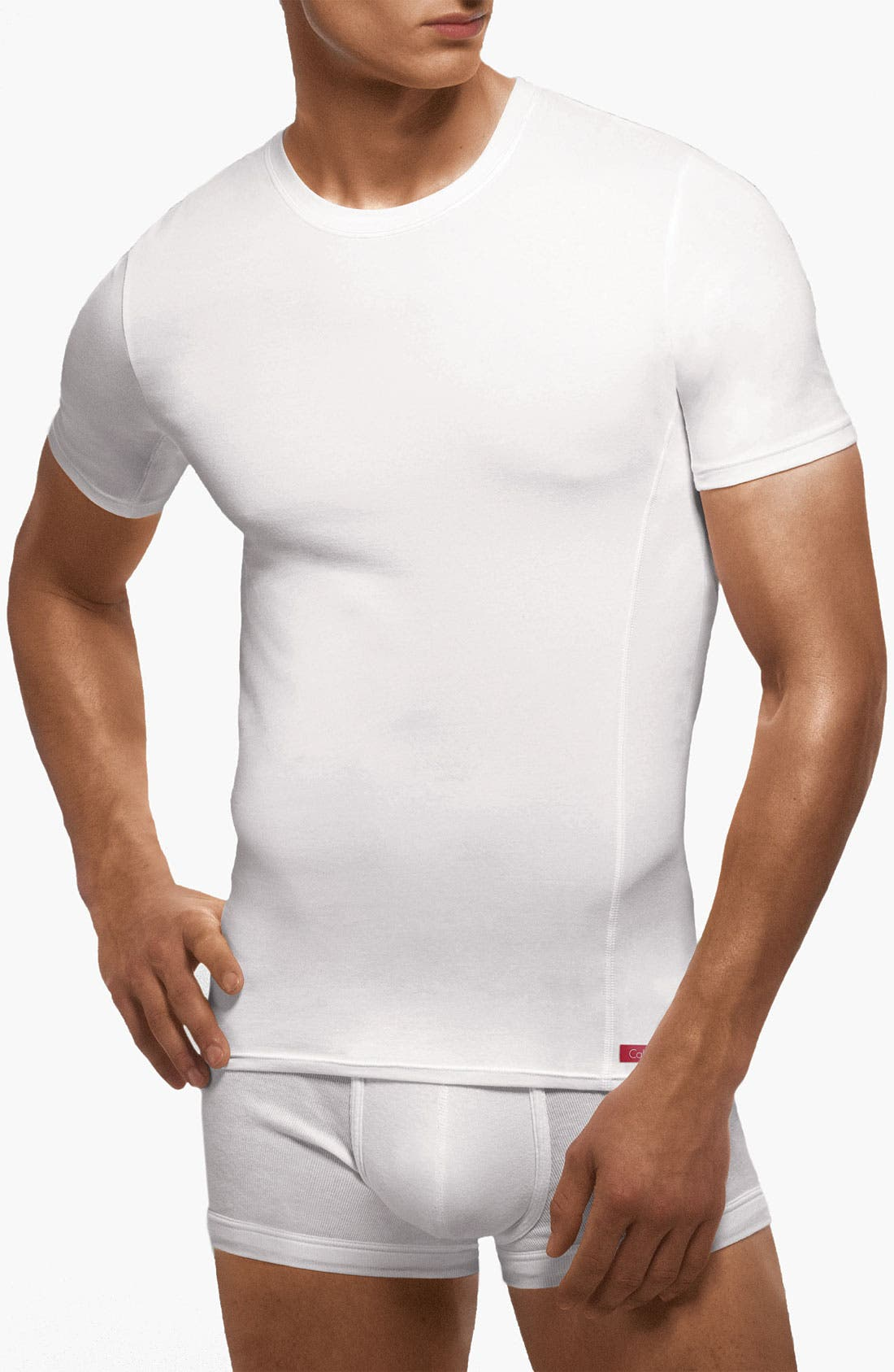 Alternate Image 1 Selected - Calvin Klein 'Pro Stretch' Slim Fit T-Shirt