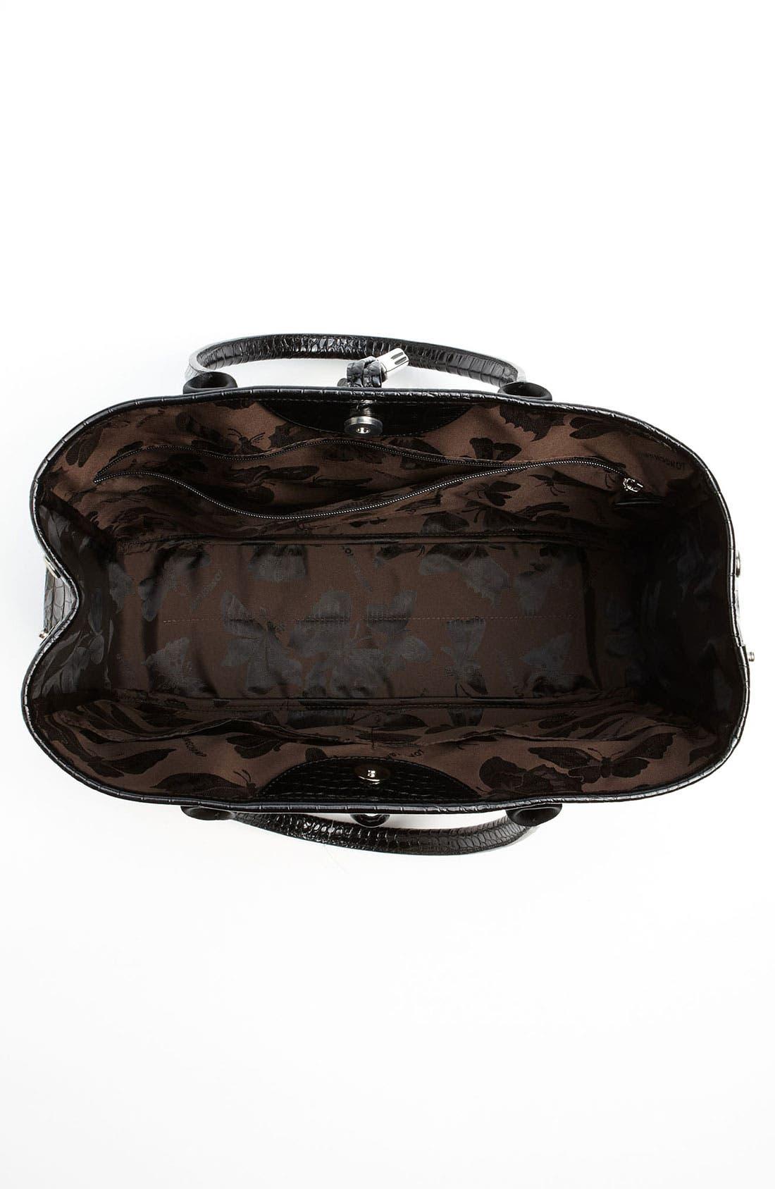 Alternate Image 4  - Longchamp 'Roseau Croco' Shoulder Tote