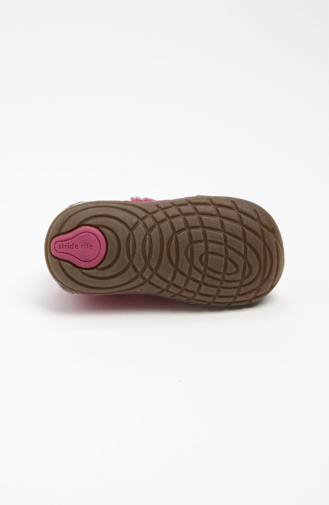 Alternate Image 4  - Stride Rite 'Sesame Street® - Abby Cadaby' Sneaker (Baby & Walker)