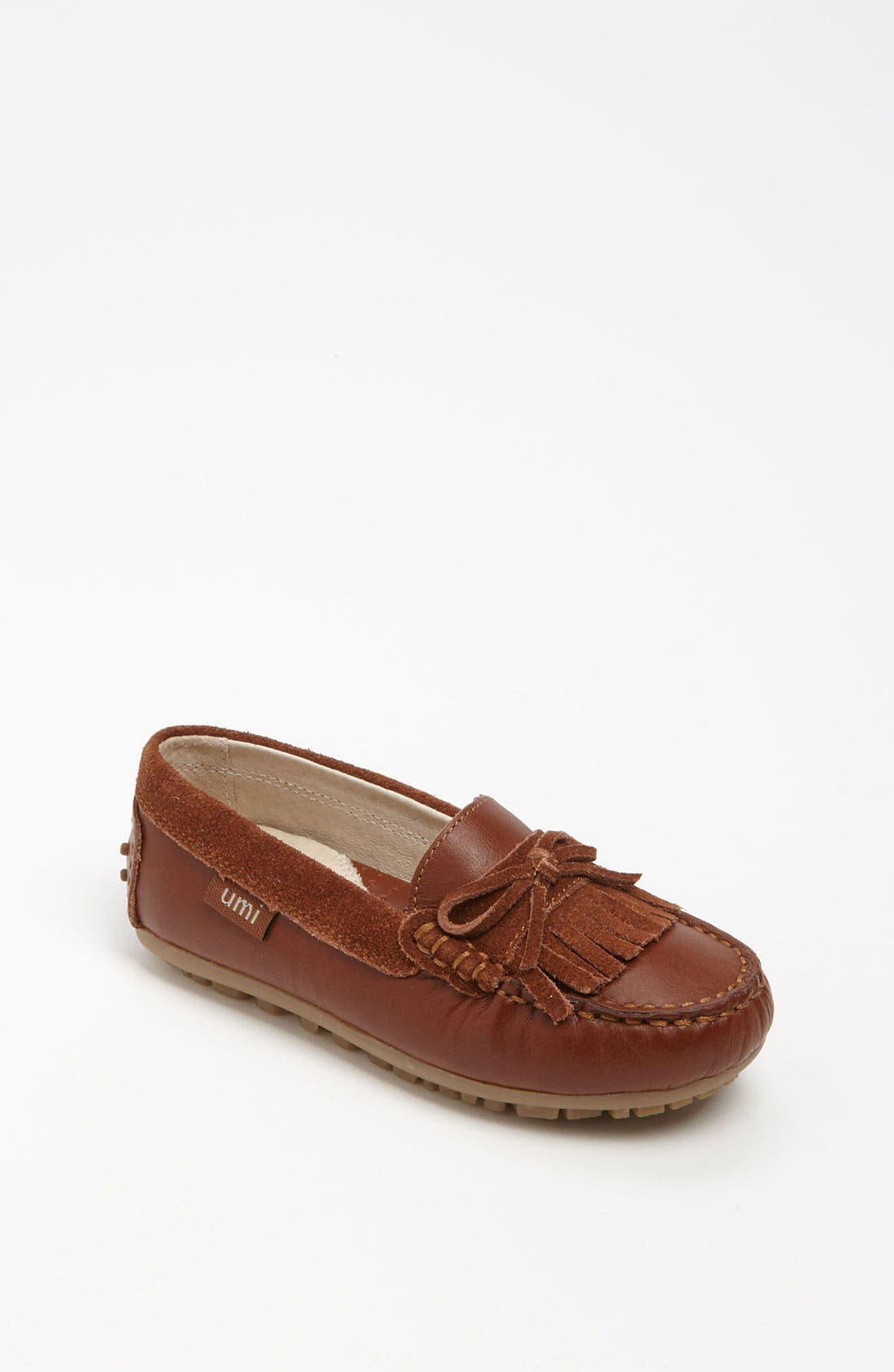 Alternate Image 1 Selected - Umi 'Monet' Moccasin (Toddler, Little Kid & Big Kid)