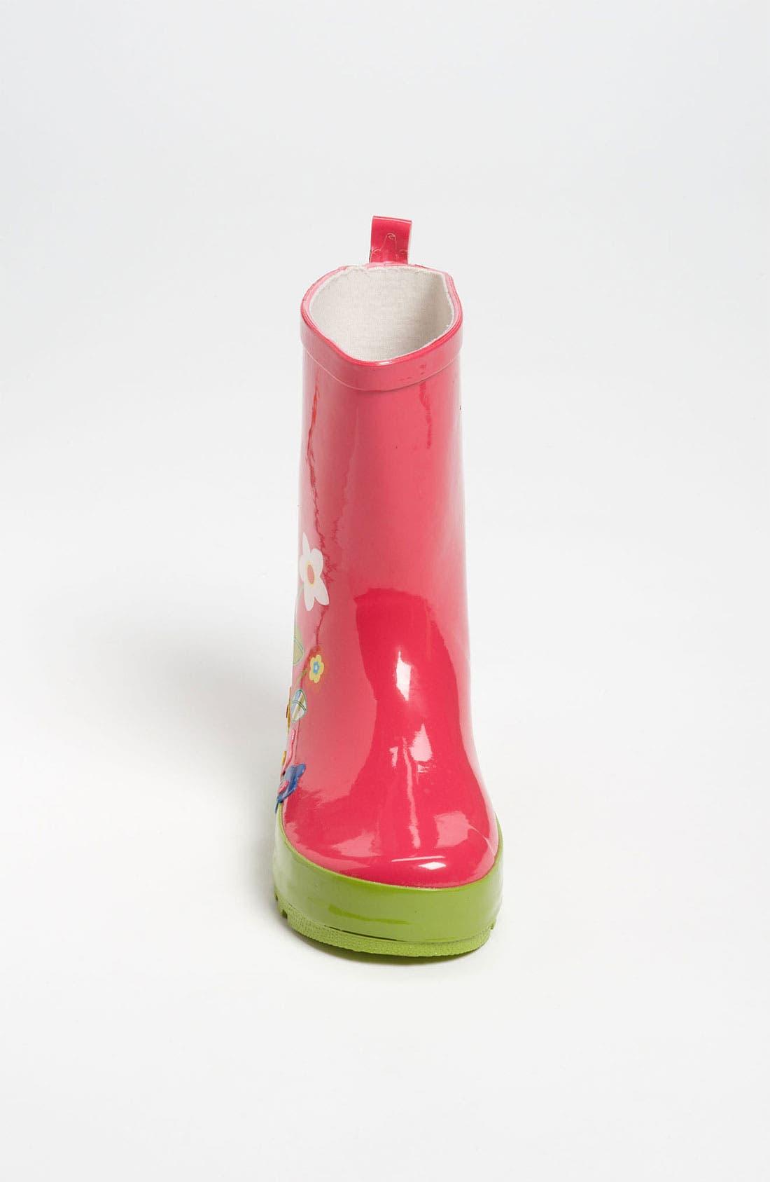 Alternate Image 3  - Laura Ashley 'Garden' Rain Boot (Walker, Toddler, Little Kid & Big Kid)