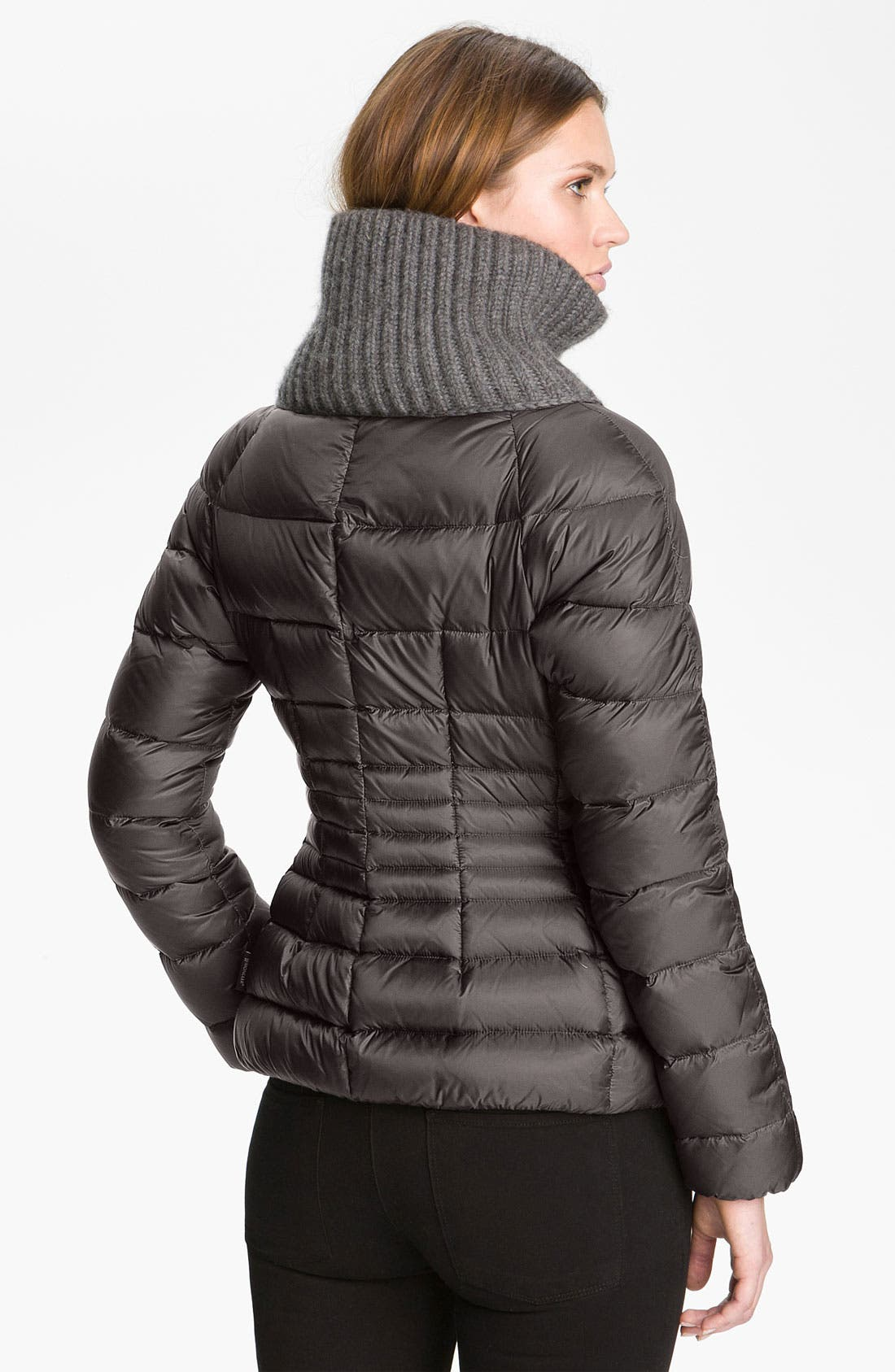 Alternate Image 2  - Moncler 'Peliade' Knit Collar Down Jacket