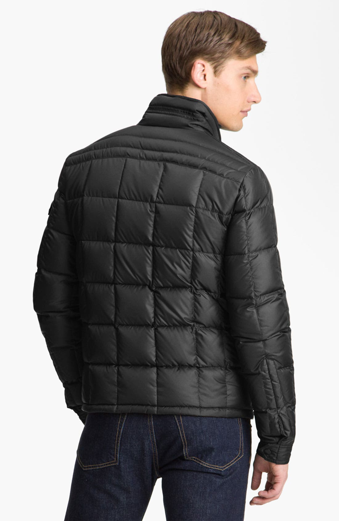 Alternate Image 2  - Moncler 'Aubin' Quilted Down Jacket