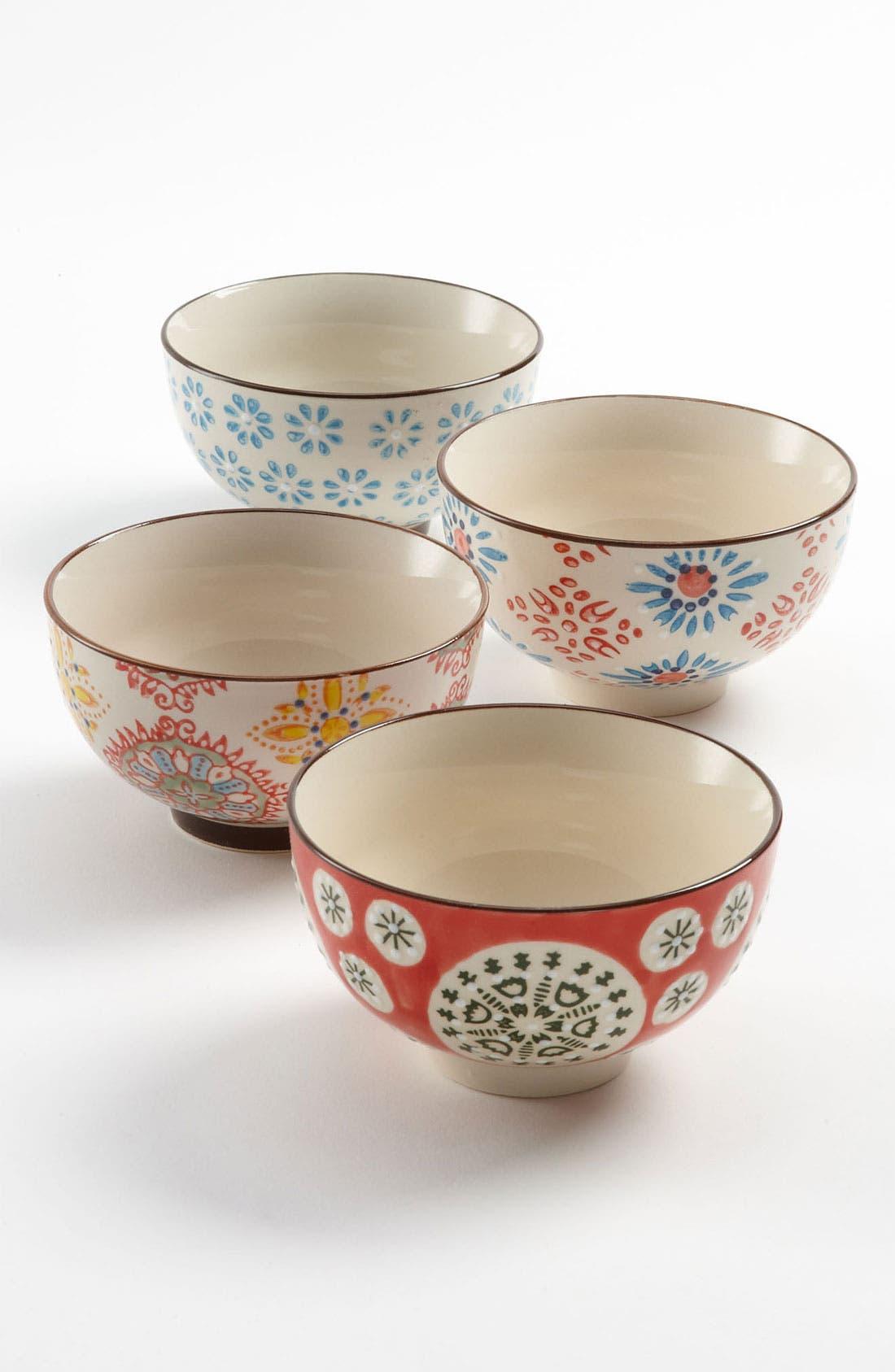 Main Image - Chehoma Atelier d'Ambiances 'Bohemian' Bowls (Set of 4)