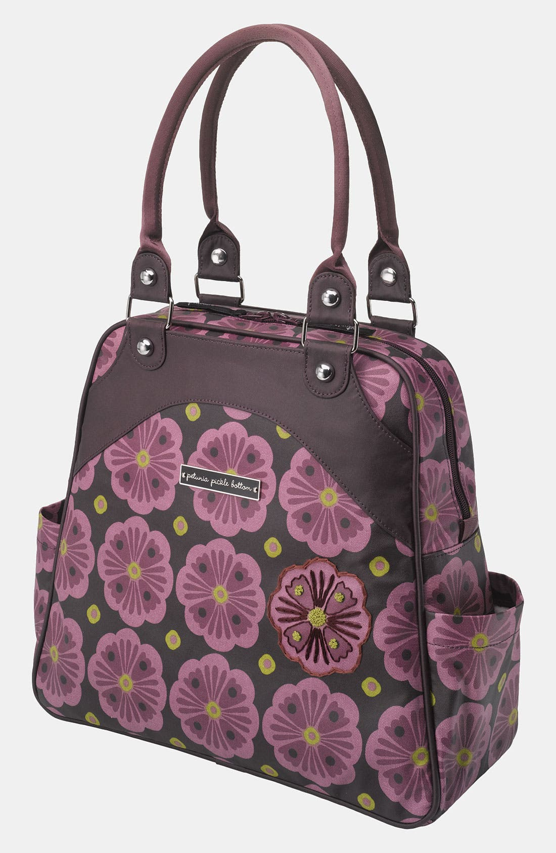 Main Image - Petunia Pickle Bottom 'Glazed Sashay' Convertible Diaper Bag/Satchel