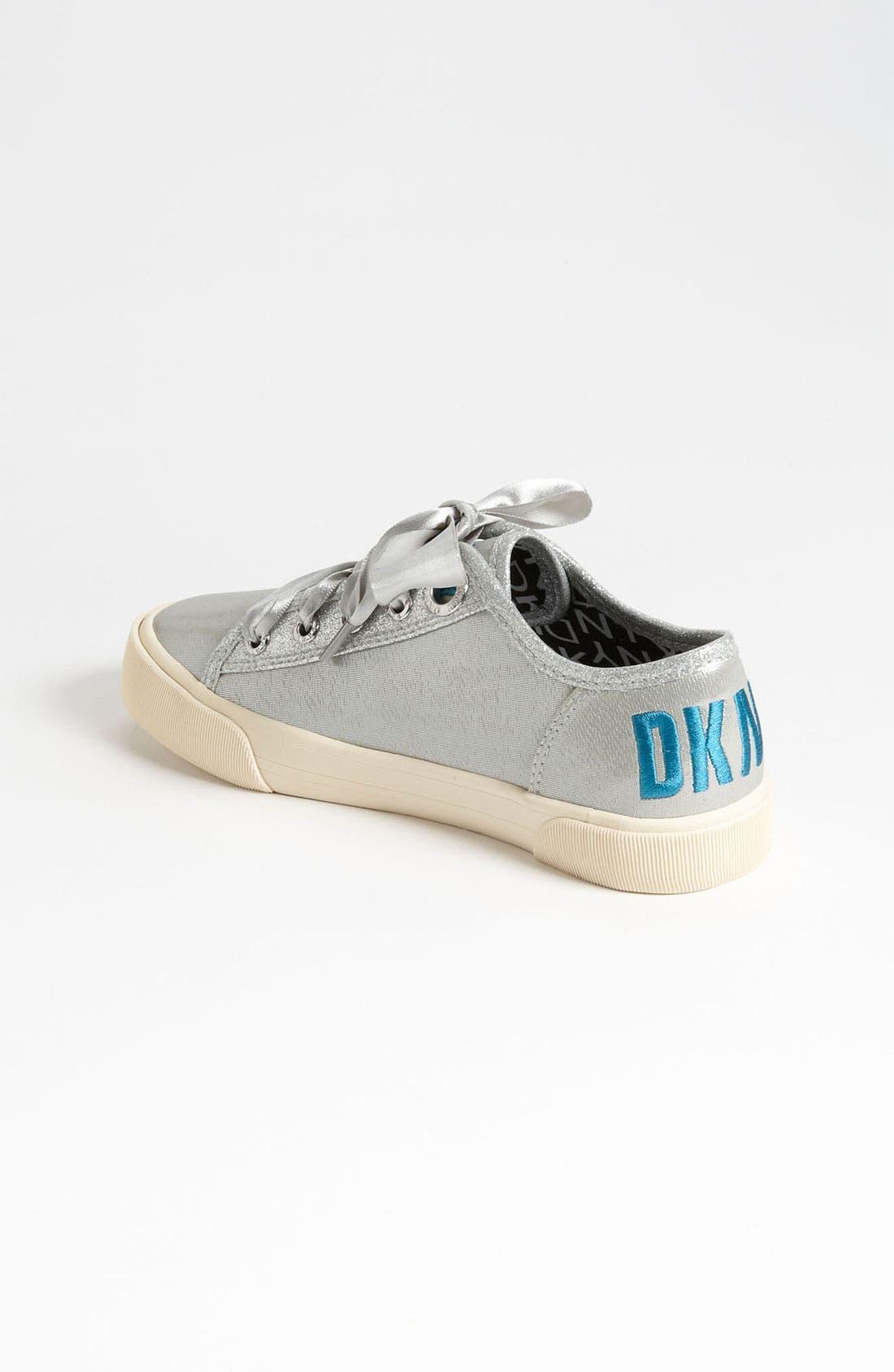 Alternate Image 2  - DKNY 'Linden' Sparkle Sneaker (Toddler, Little Kid & Big Kid)