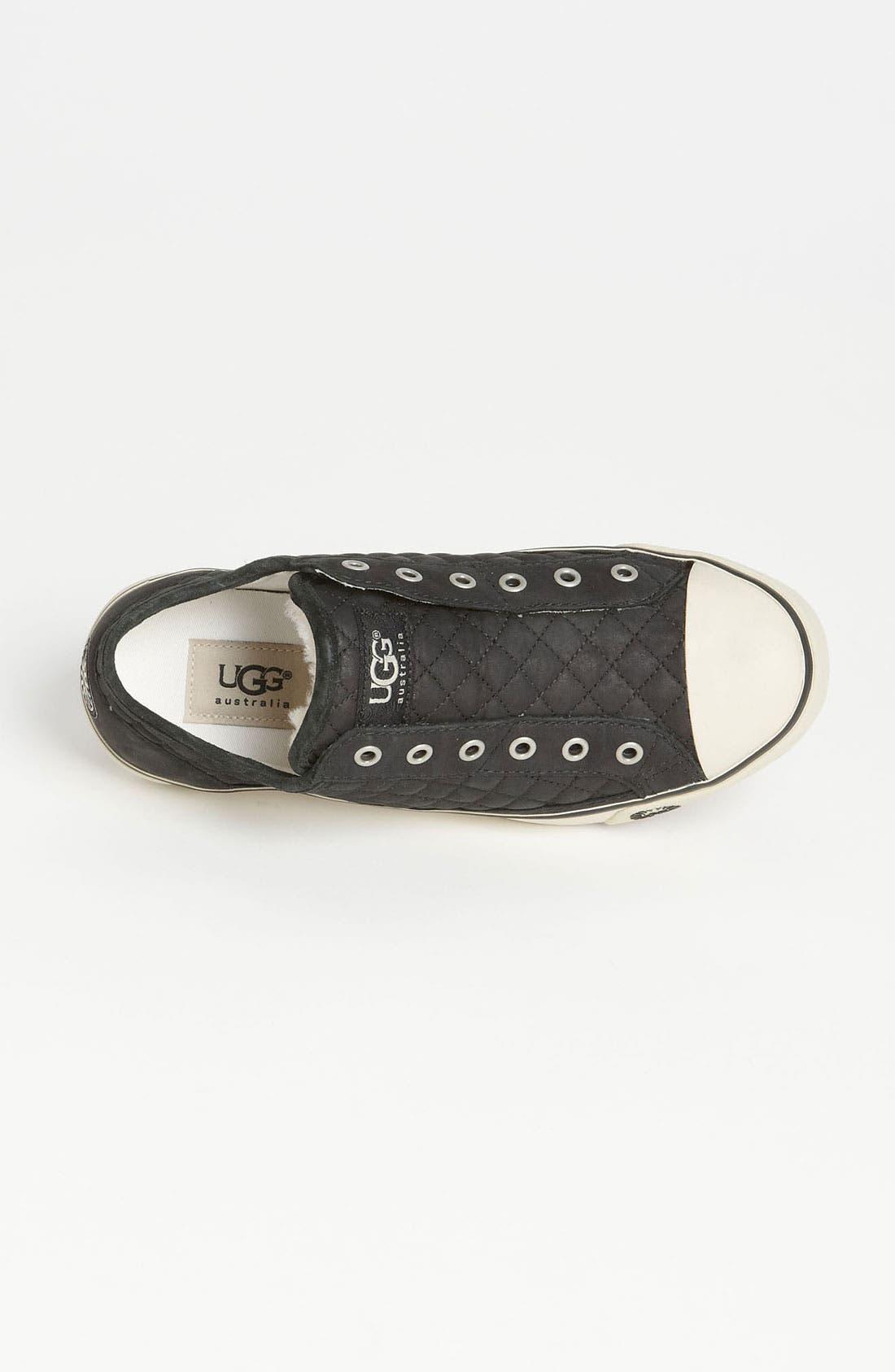 Alternate Image 3  - UGG® Australia 'Laela Quilted' Sneaker (Women)