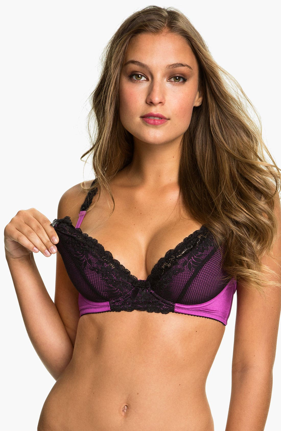 Main Image - Cake 'Turkish Delight' Molded Underwire Plunge Nursing Bra