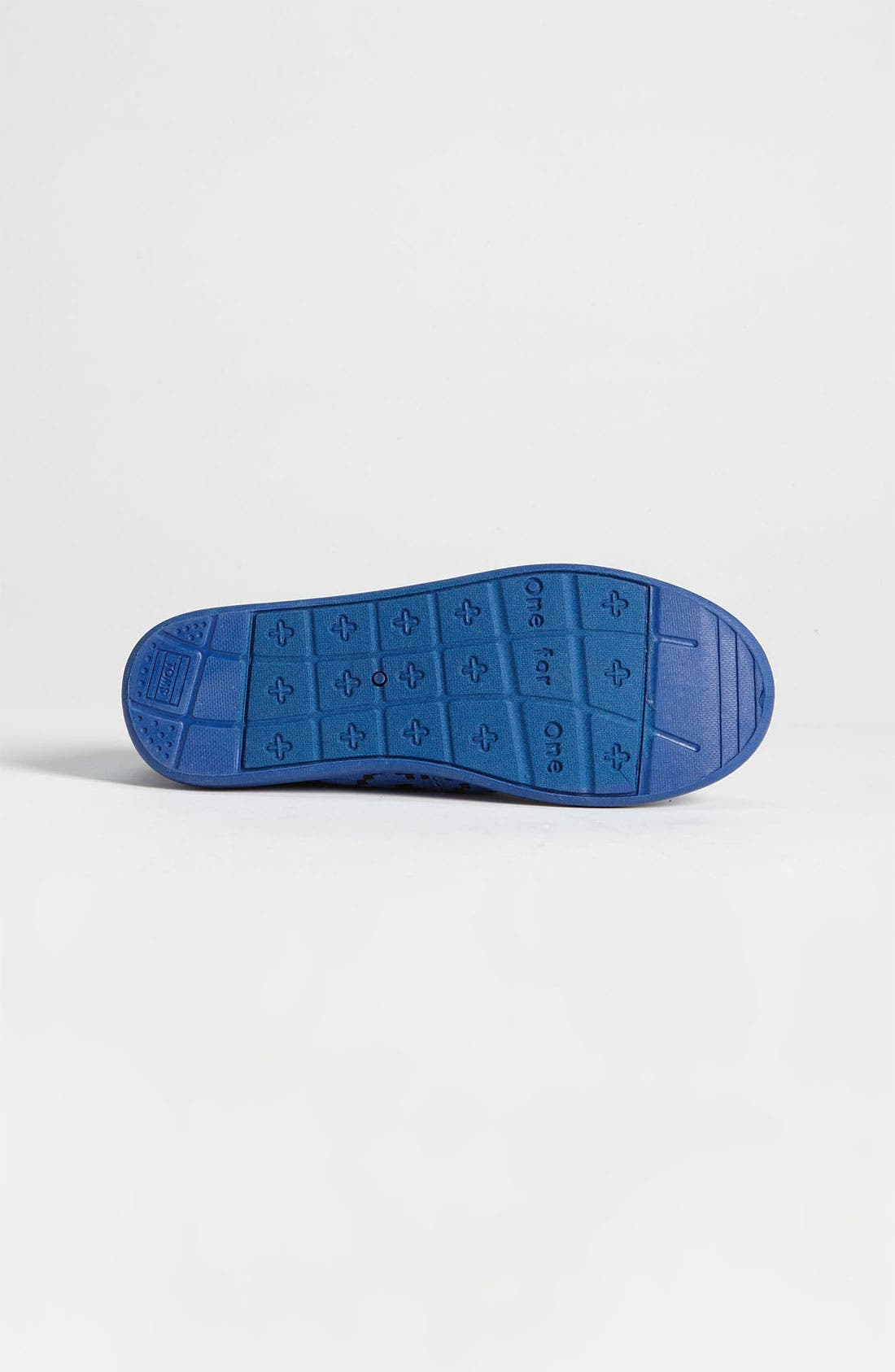 Alternate Image 4  - TOMS 'Classic Youth - Geo Squares' Slip-On (Toddler, Little Kid & Big Kid)