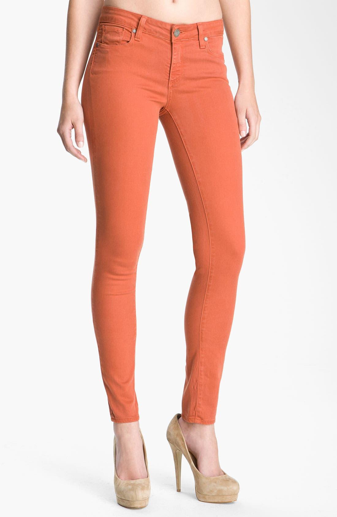 Main Image - Paige Denim 'Verdugo' Skinny Stretch Jeans (Picasso)