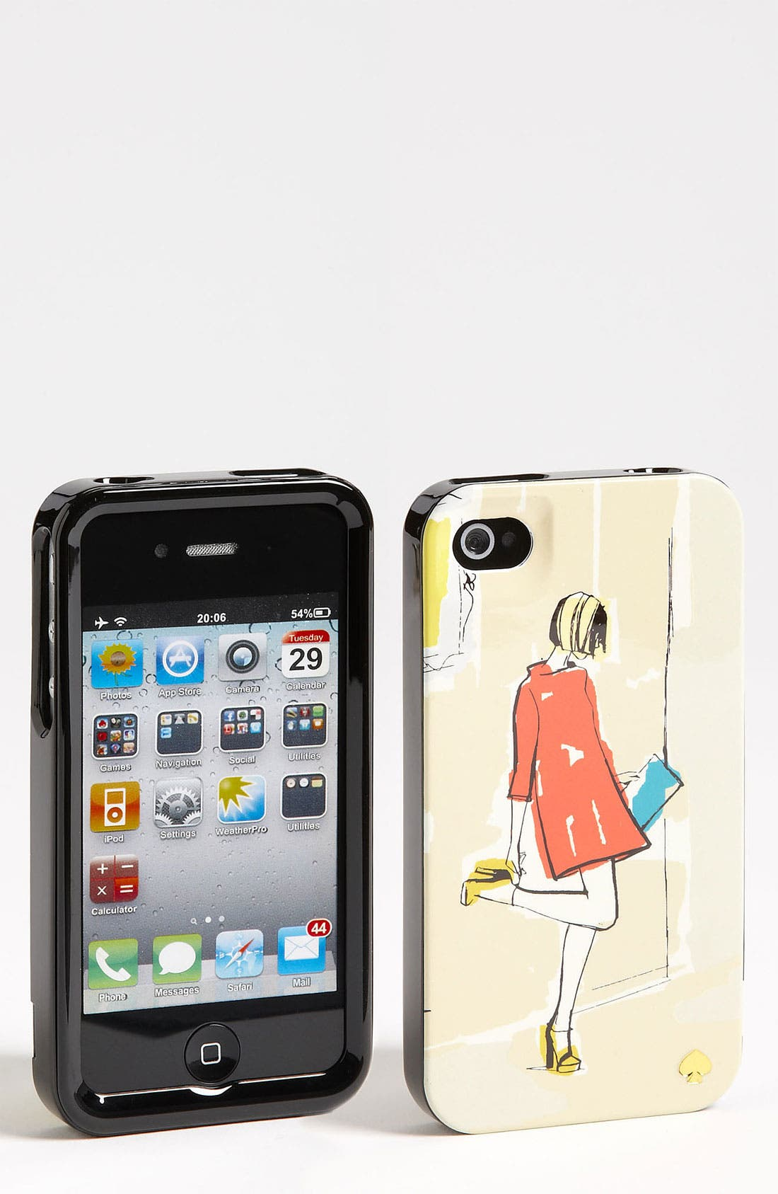 Alternate Image 1 Selected - kate spade new york 'garance doré - girl' iPhone 4 & 4S case