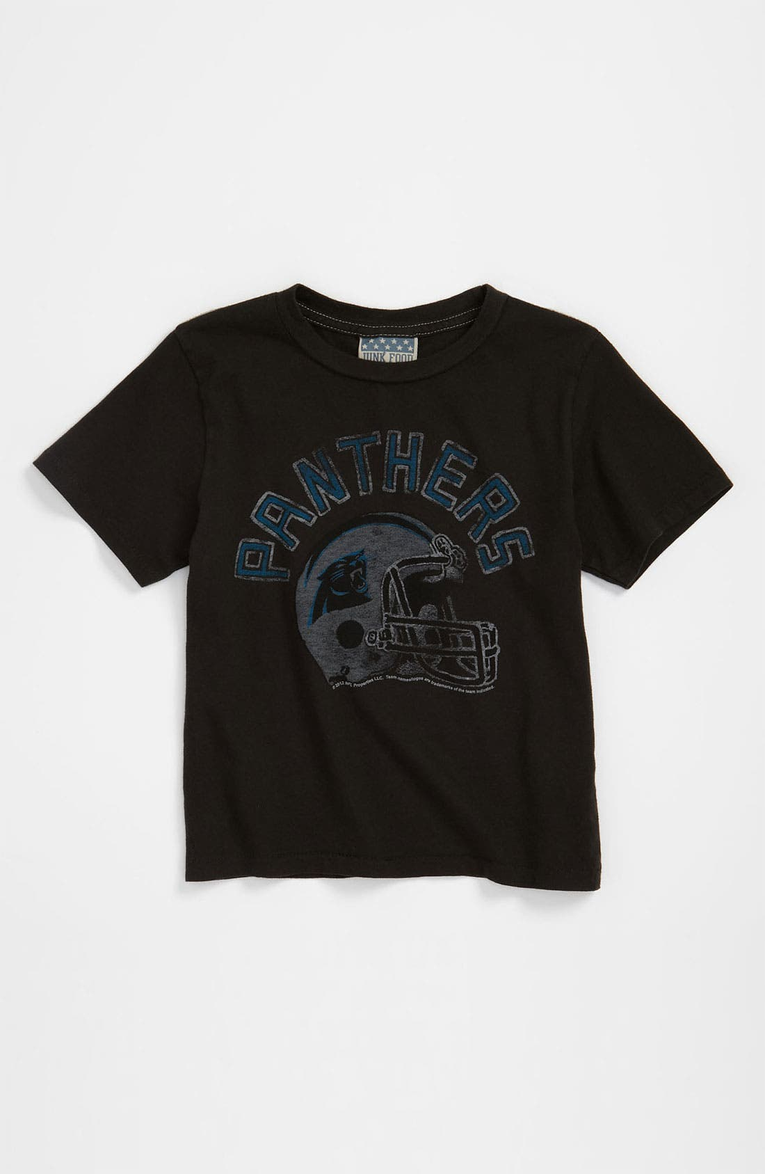 Alternate Image 1 Selected - Junk Food 'Carolina Panthers' T-Shirt (Toddler)