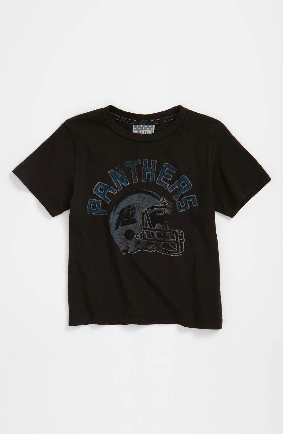 Main Image - Junk Food 'Carolina Panthers' T-Shirt (Toddler)