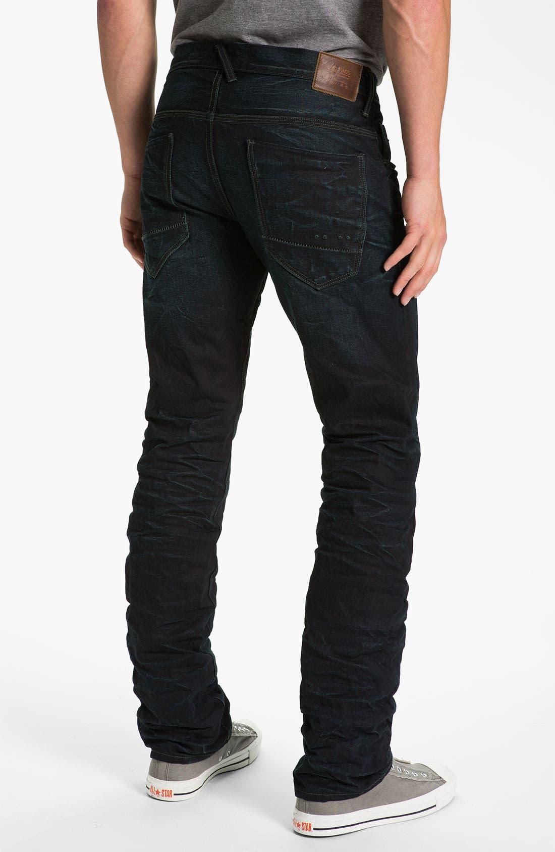 Alternate Image 1 Selected - J.C. Rags 'Alpha' Straight Leg Jeans (Used)