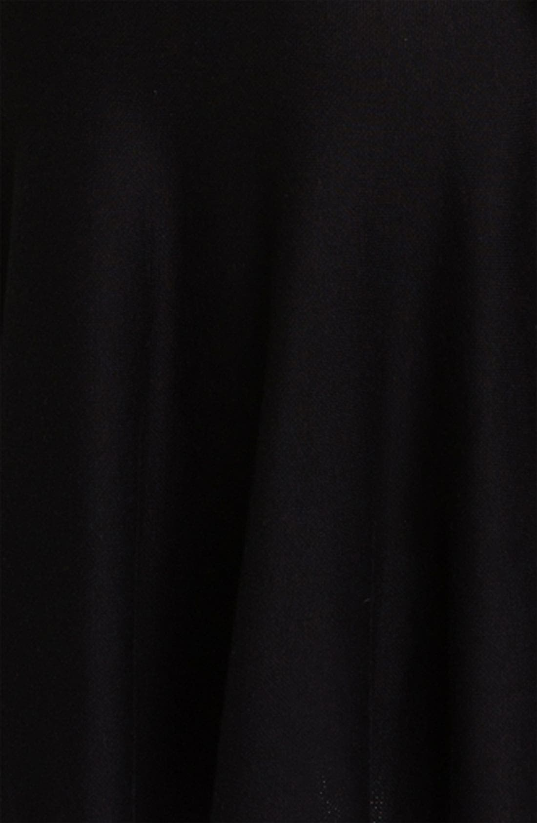 Alternate Image 3  - BCBGMAXAZRIA Silk Blend A-Line Dress