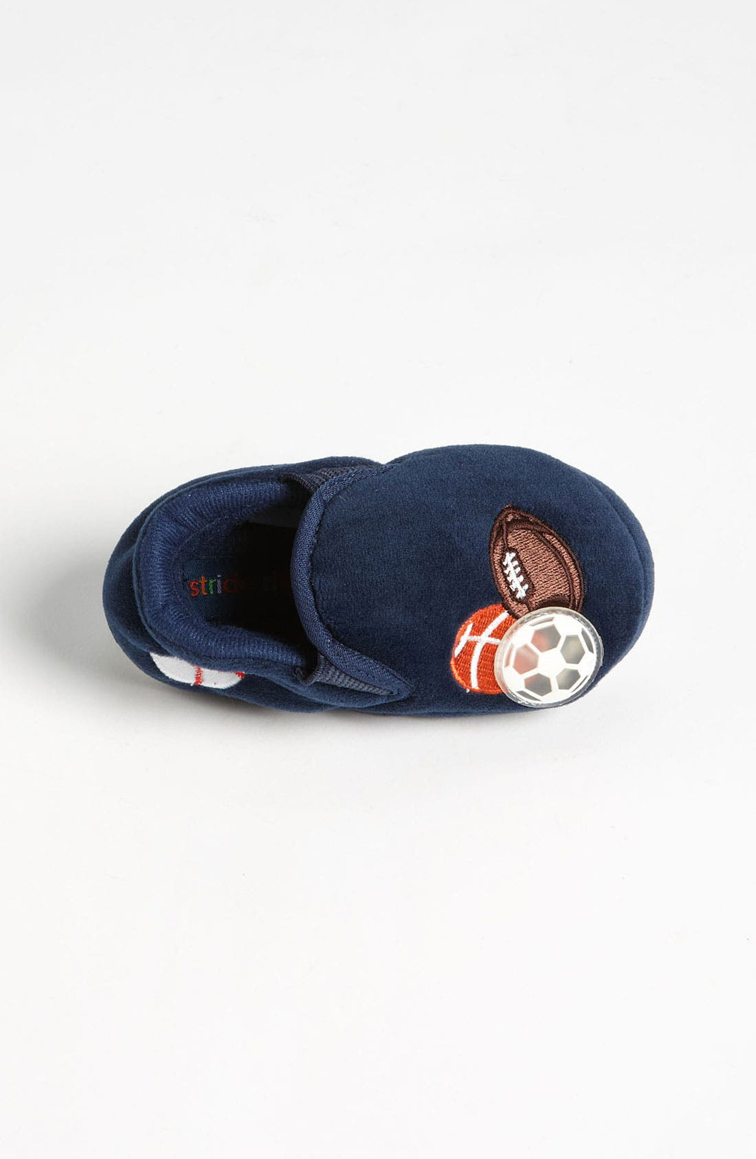 Alternate Image 3  - Stride Rite 'Lighted Sportsballs' Slippers (Walker, Toddler & Little Kid)