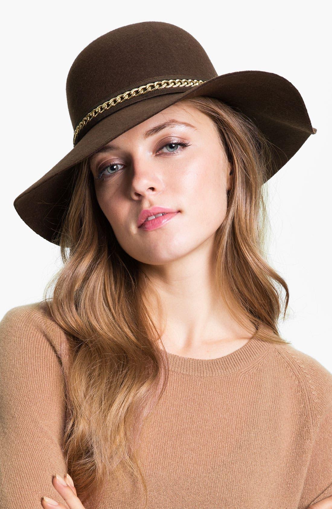 Main Image - Nordstrom Floppy Wool Hat