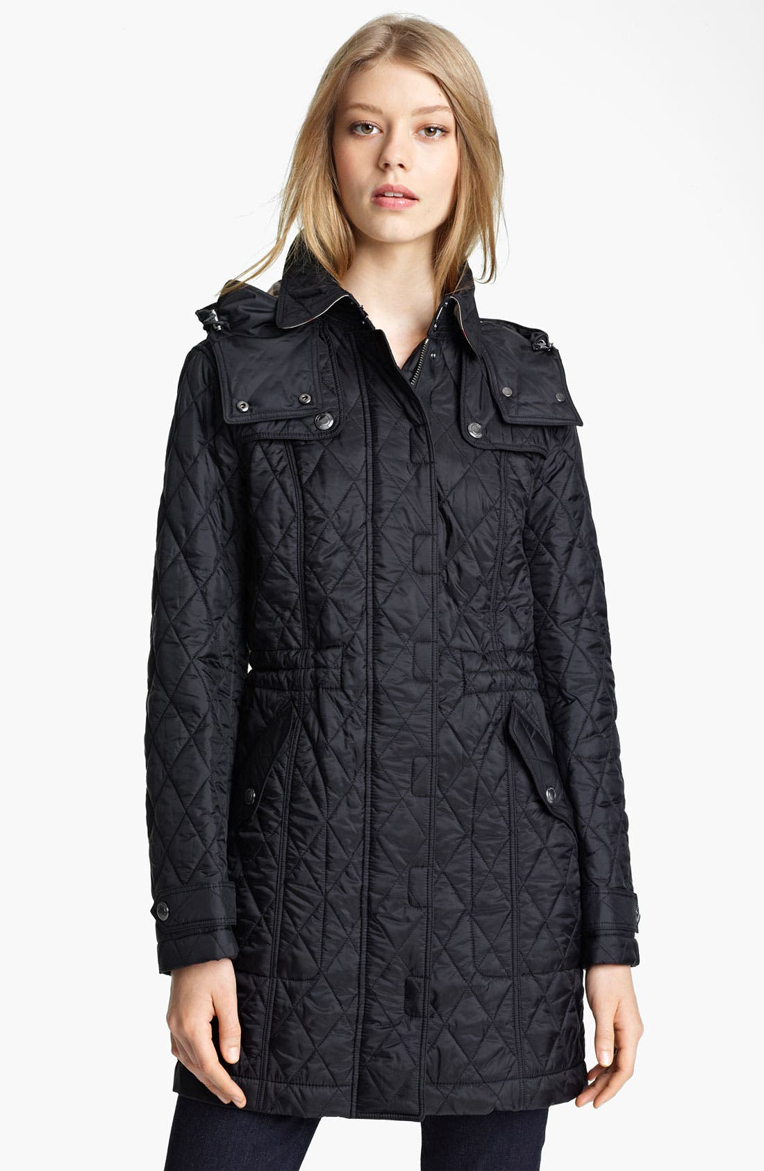Alternate Image 1 Selected - Burberry Brit Quilted Jacket