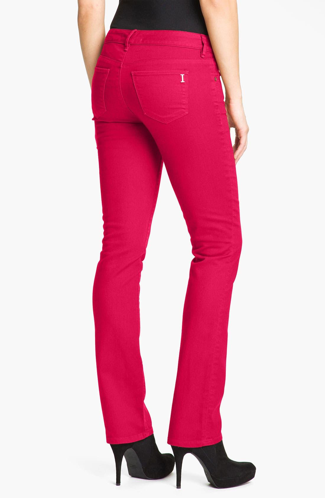 Alternate Image 2  - Isaac Mizrahi Jeans 'Emma' Straight Leg Jeans