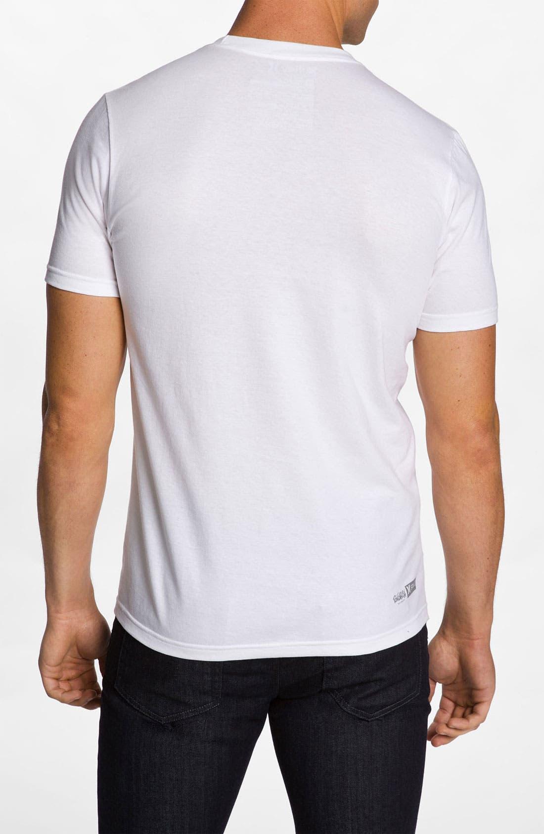 Alternate Image 2  - Hurley 'Camo Deer' Graphic T-Shirt