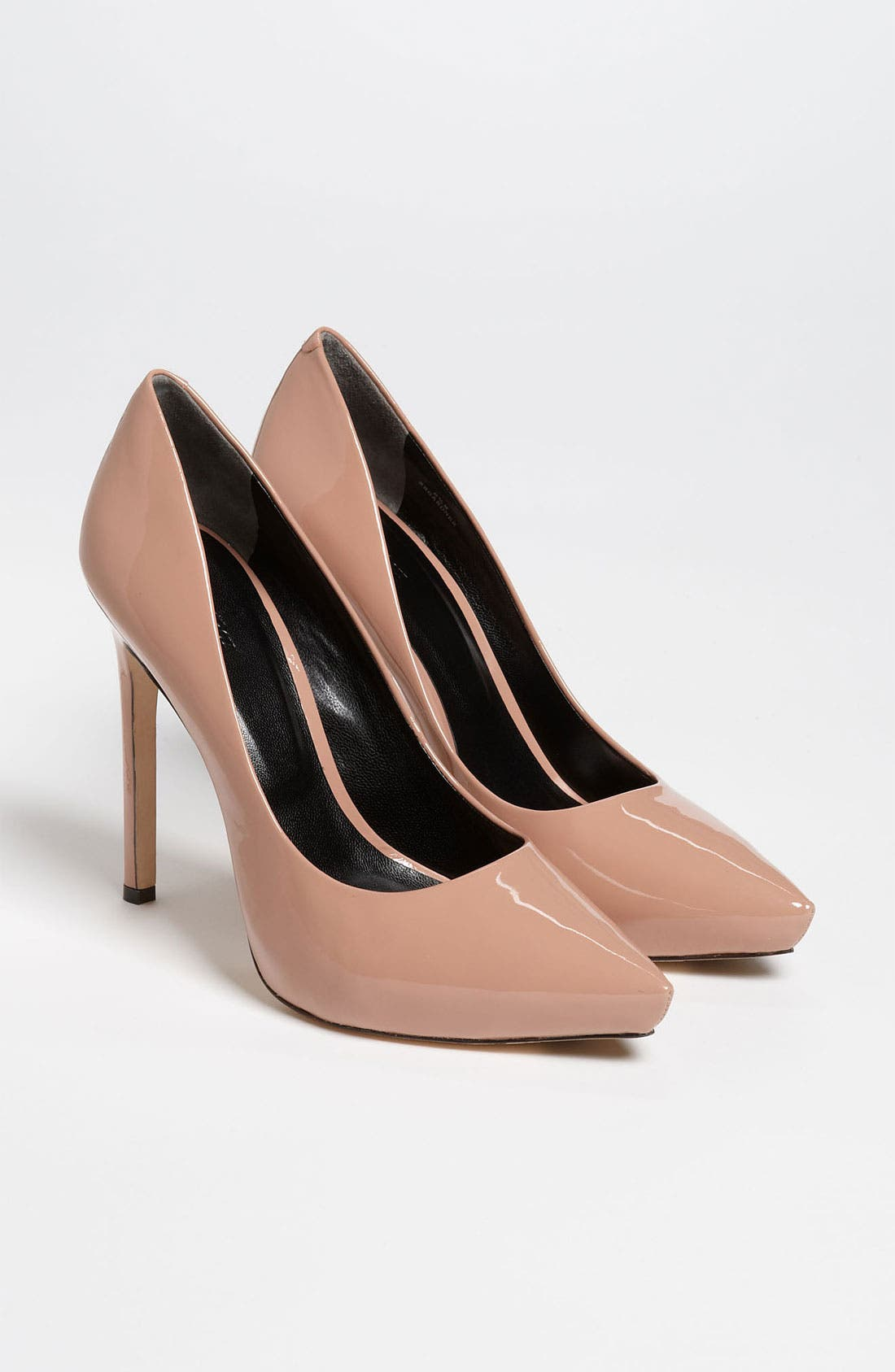 Rachel Roy 'Gardner' Pump,                             Alternate thumbnail 4, color,                             Light Pink Patent