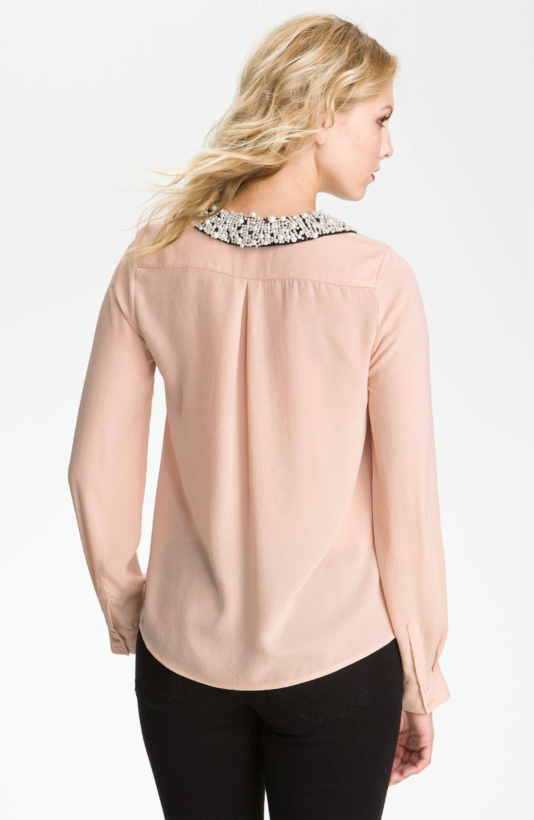 Alternate Image 3  - Bellatrix Embellished Collar Shirt