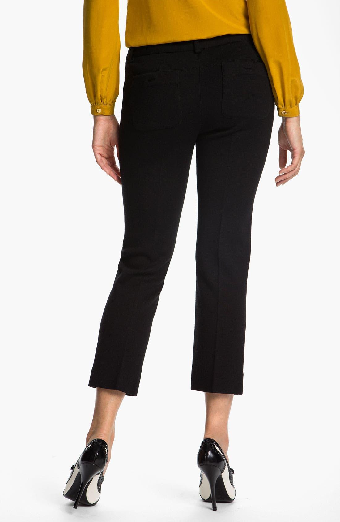 Alternate Image 2  - Tory Burch 'Beverly' Crop Pants